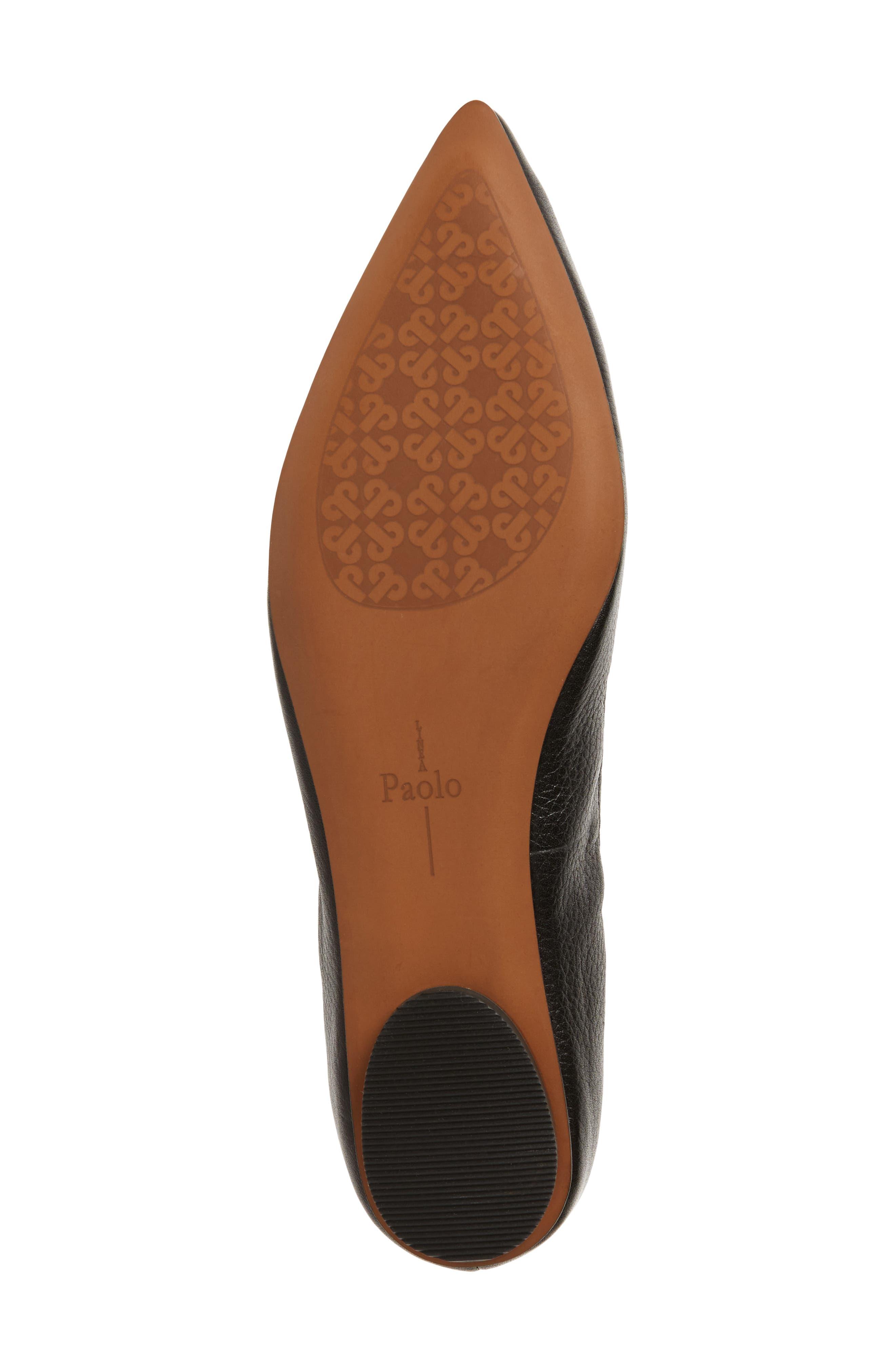 Alternate Image 6  - Linea Paolo Nadia Embellished Pointy Toe Flat (Women)