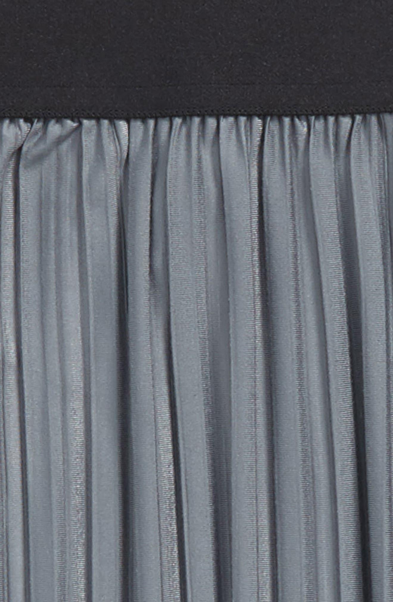 Pleated Skirt,                             Alternate thumbnail 2, color,                             Grey Castlerock