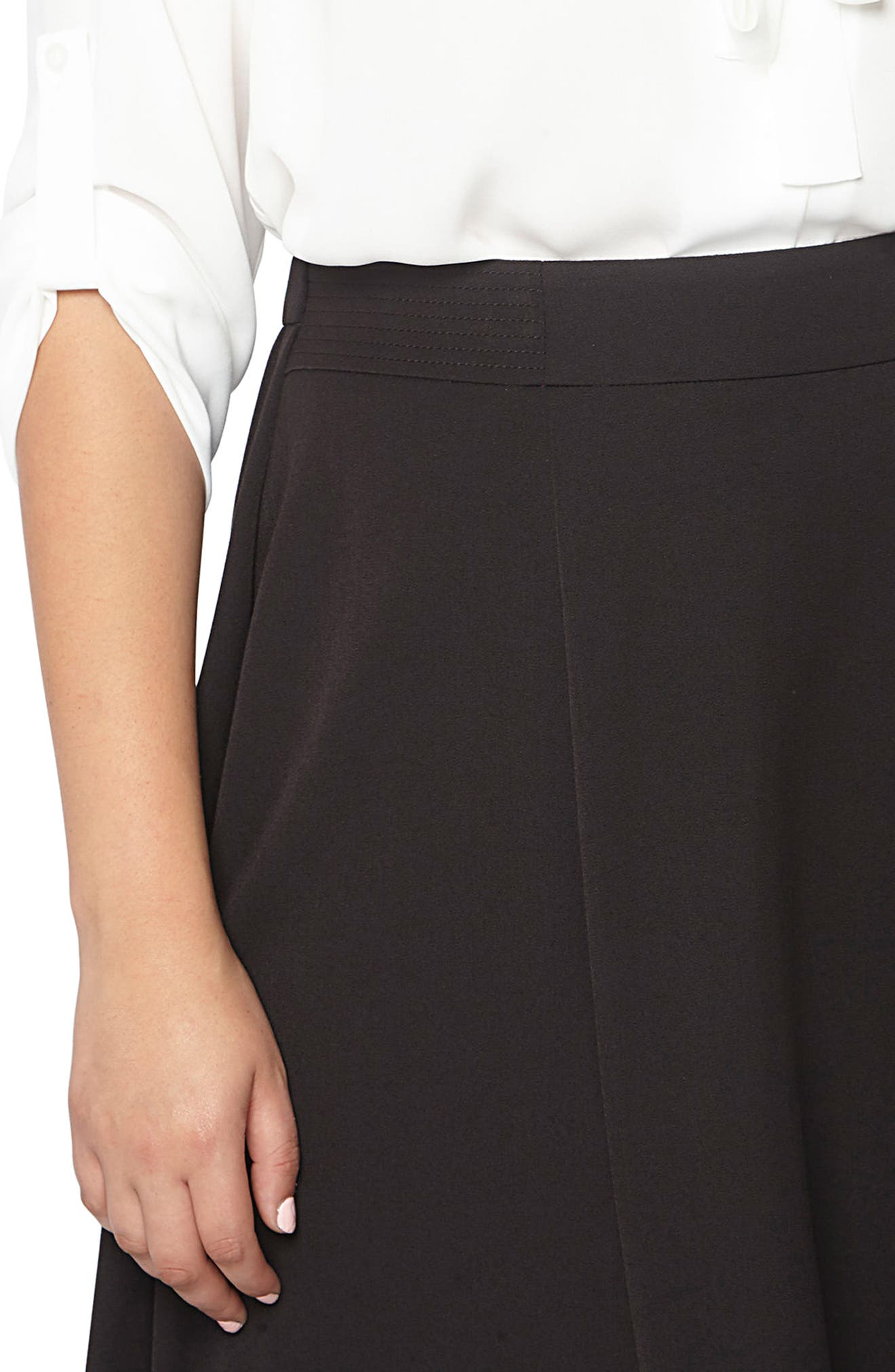 Picasso 36 Skirt,                             Alternate thumbnail 4, color,                             Black