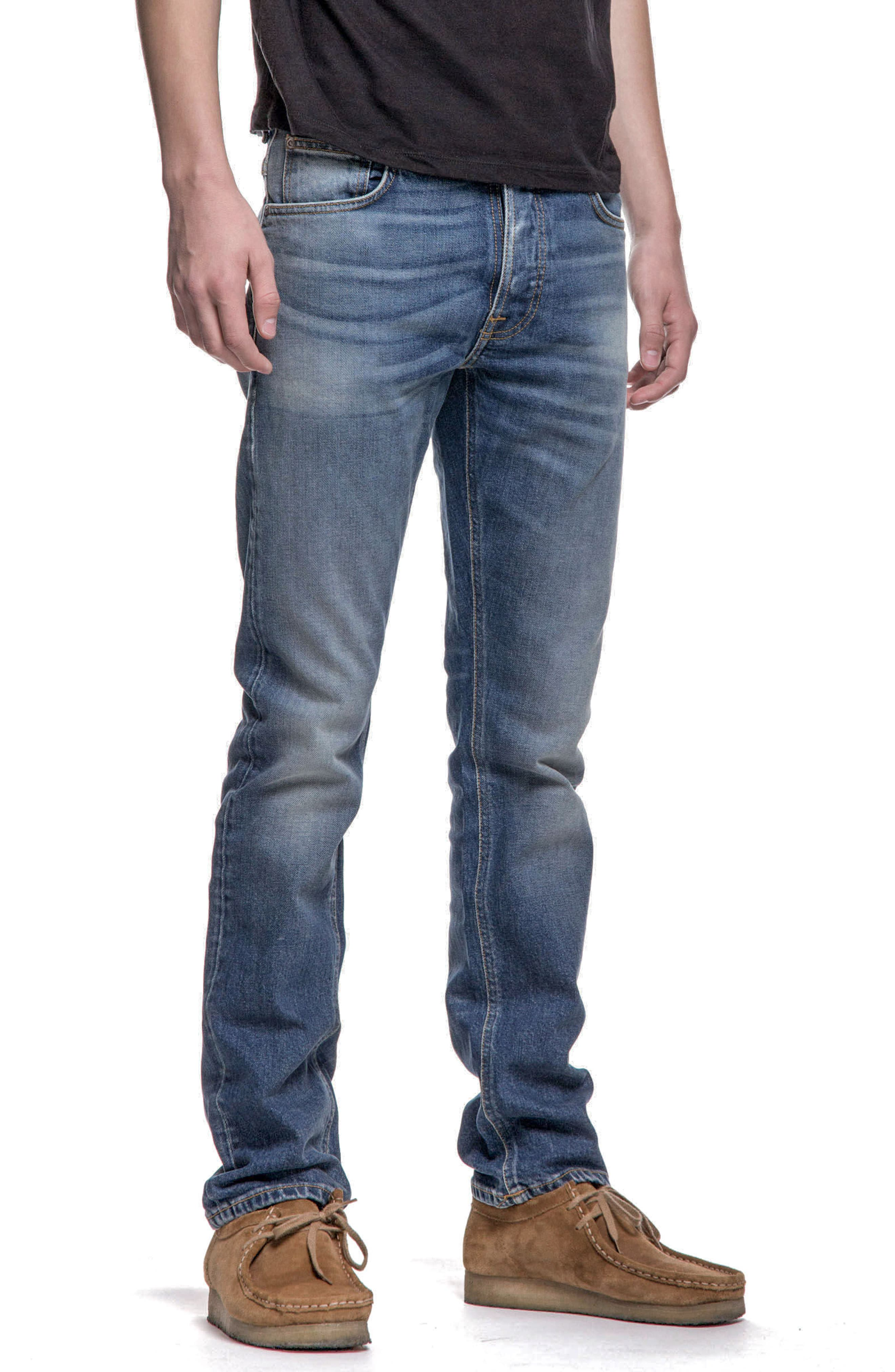 Grim Tim Slim Fit Jeans,                             Alternate thumbnail 4, color,                             Conjunctions