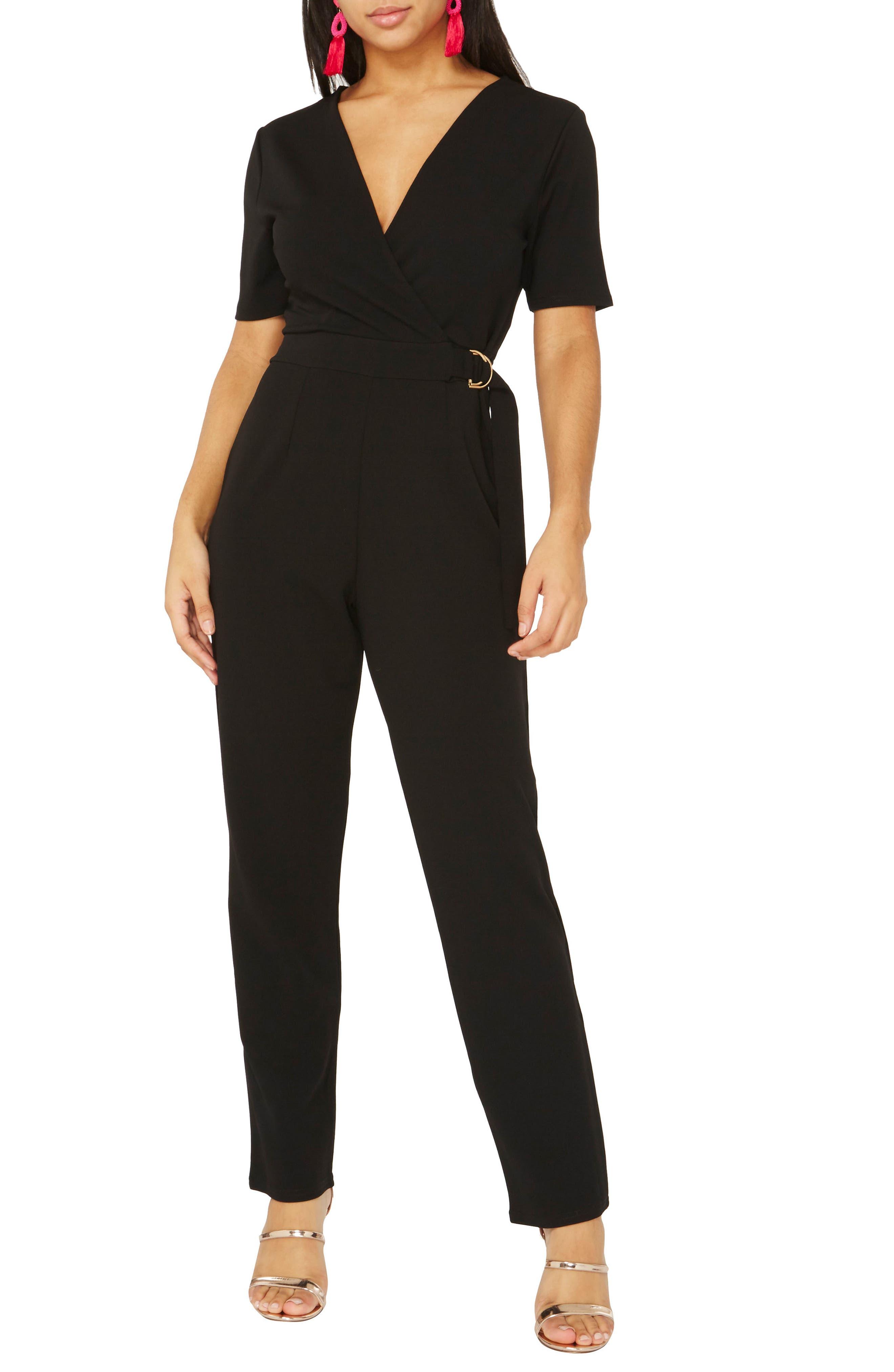 Jumpsuit,                         Main,                         color, Black