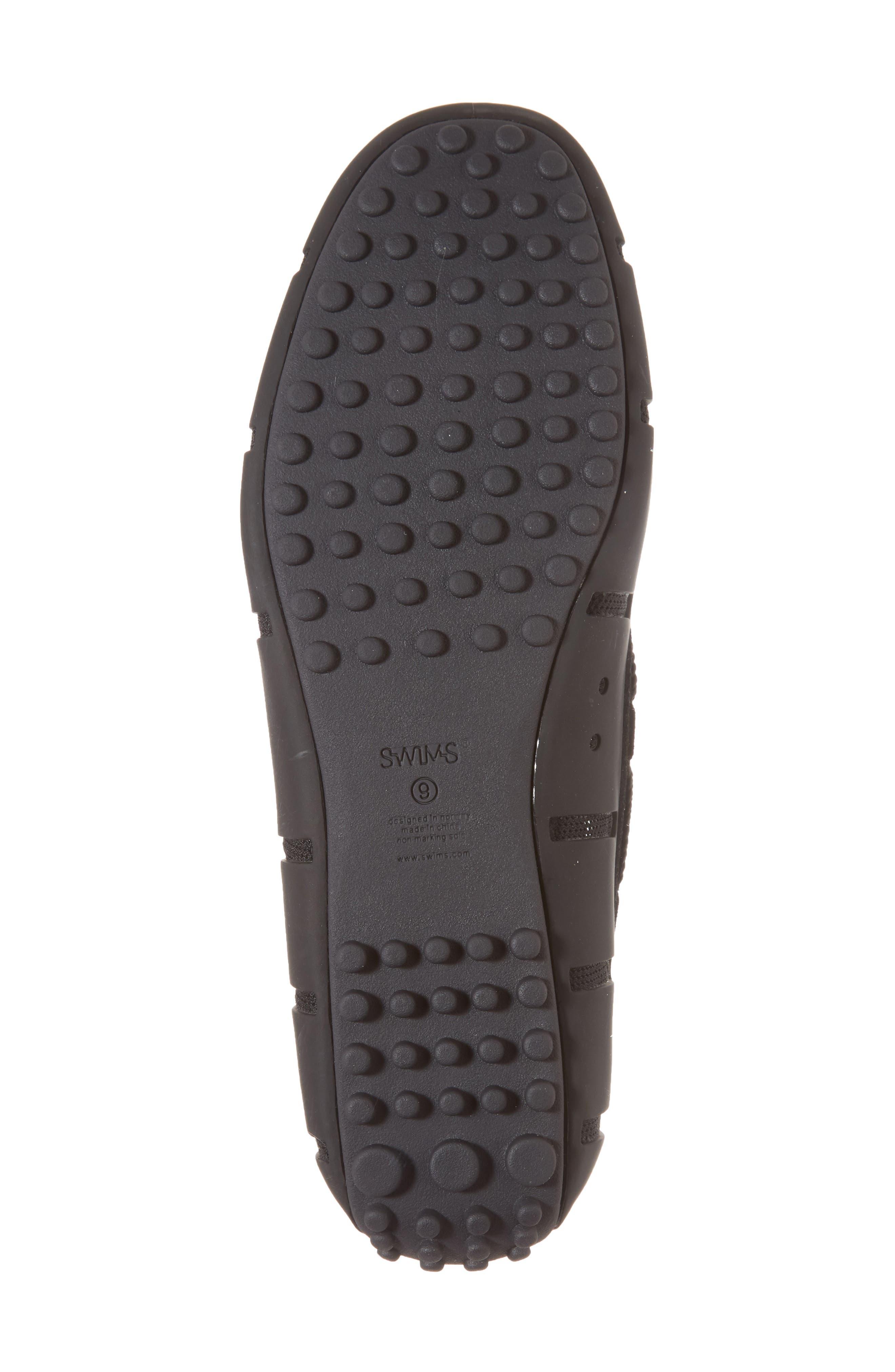 Driving Shoe,                             Alternate thumbnail 6, color,                             Black/ Graphite