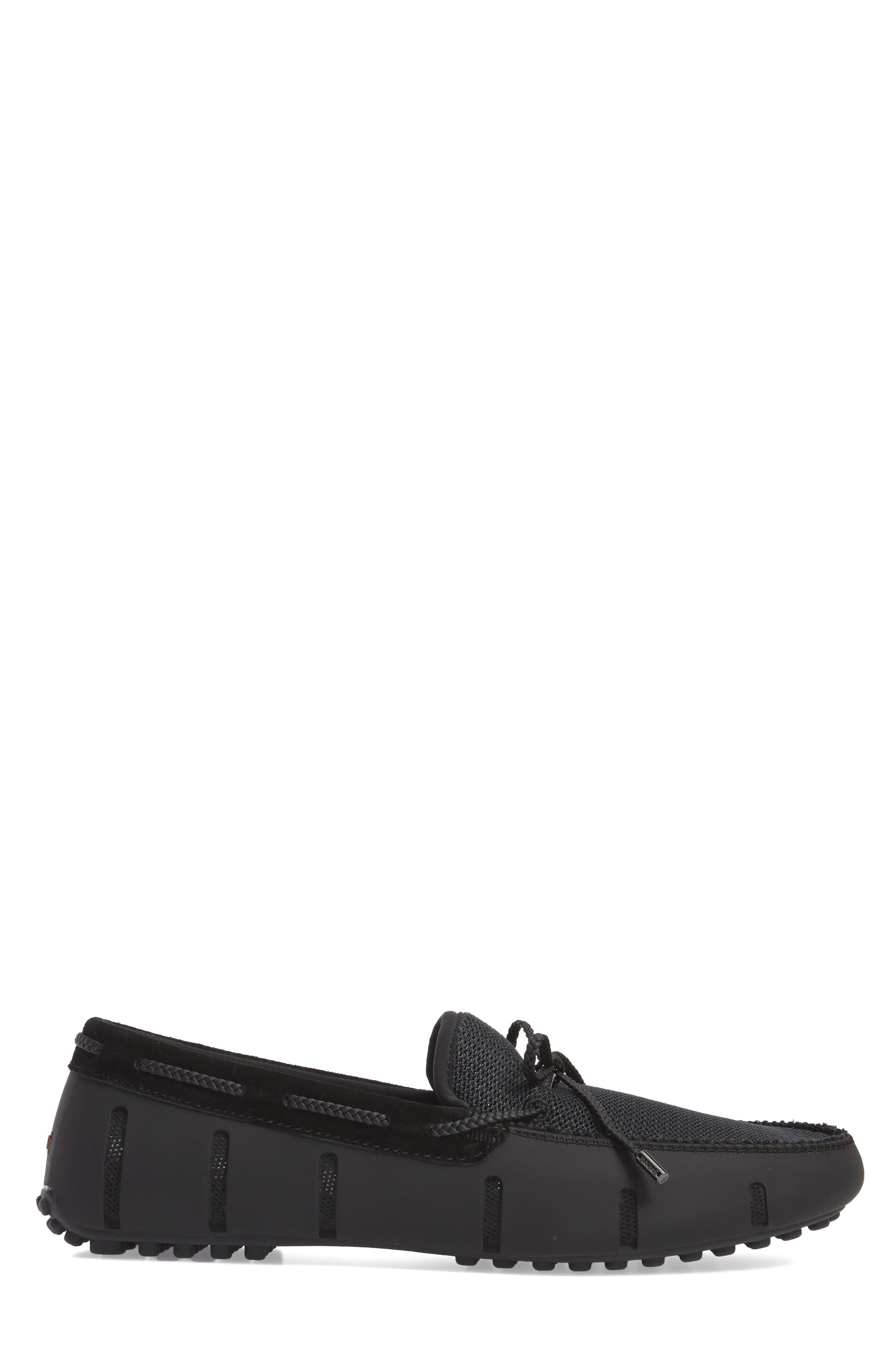 Driving Shoe,                             Alternate thumbnail 3, color,                             Black/ Graphite