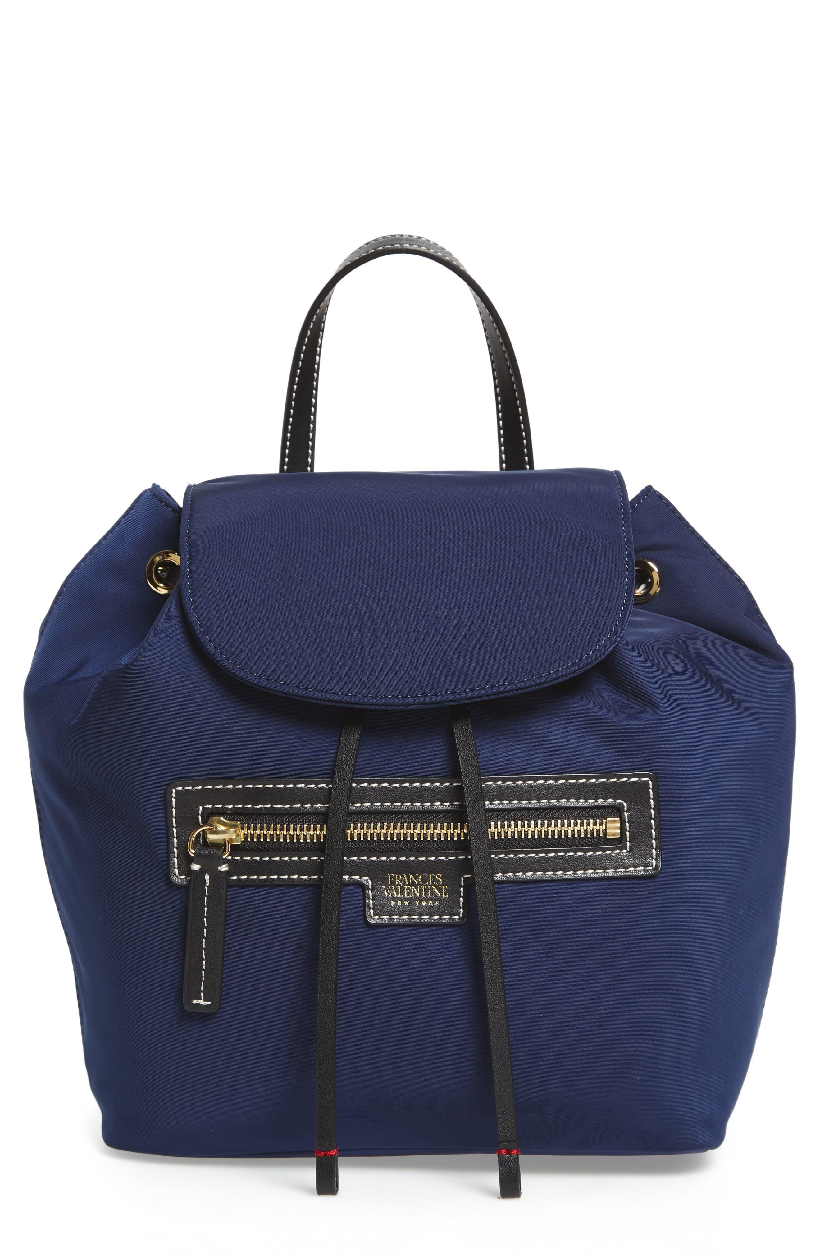 Alternate Image 1 Selected - Frances Valentine Nylon Backpack