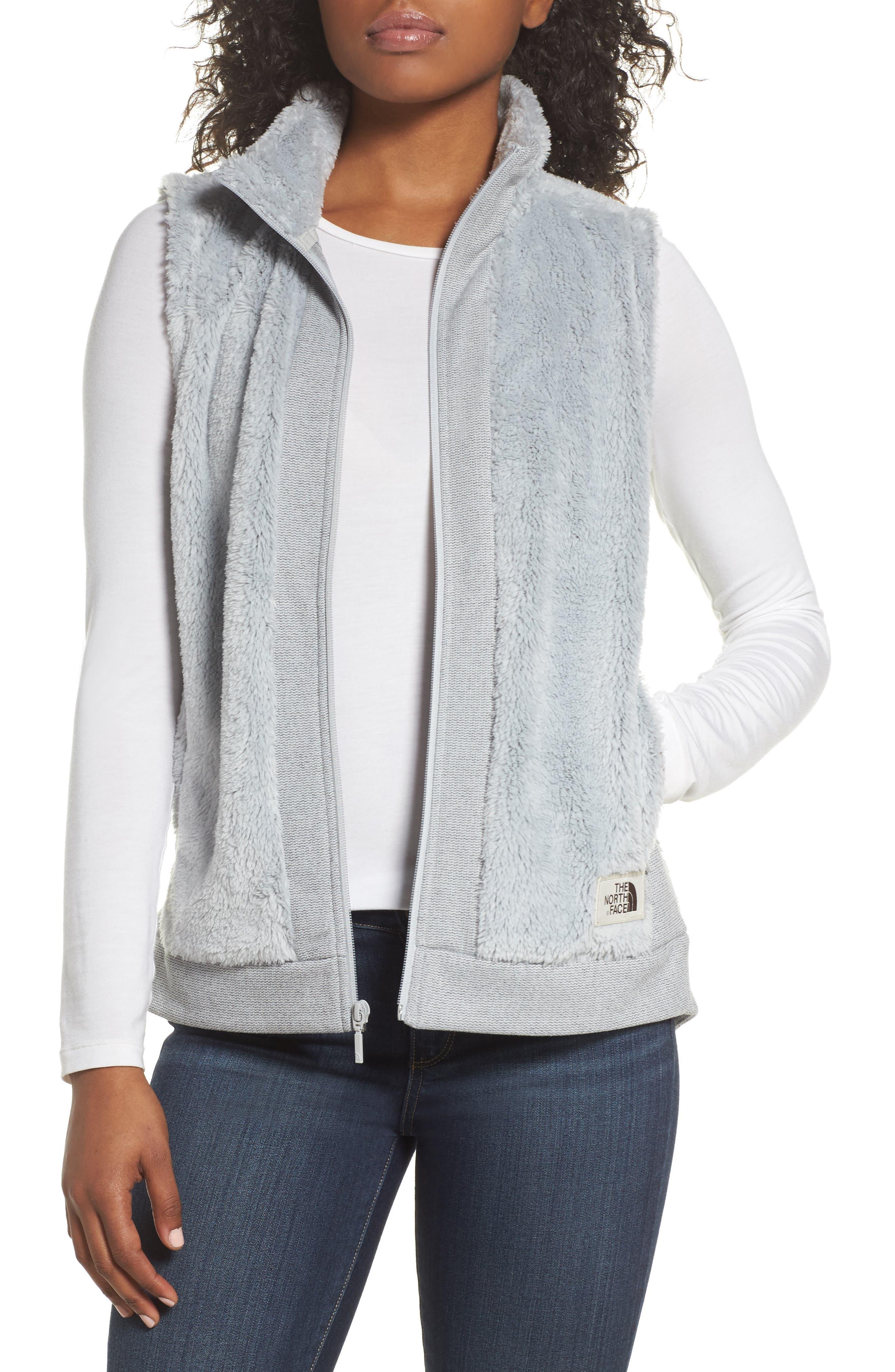 The North Face Faux Fur Vest