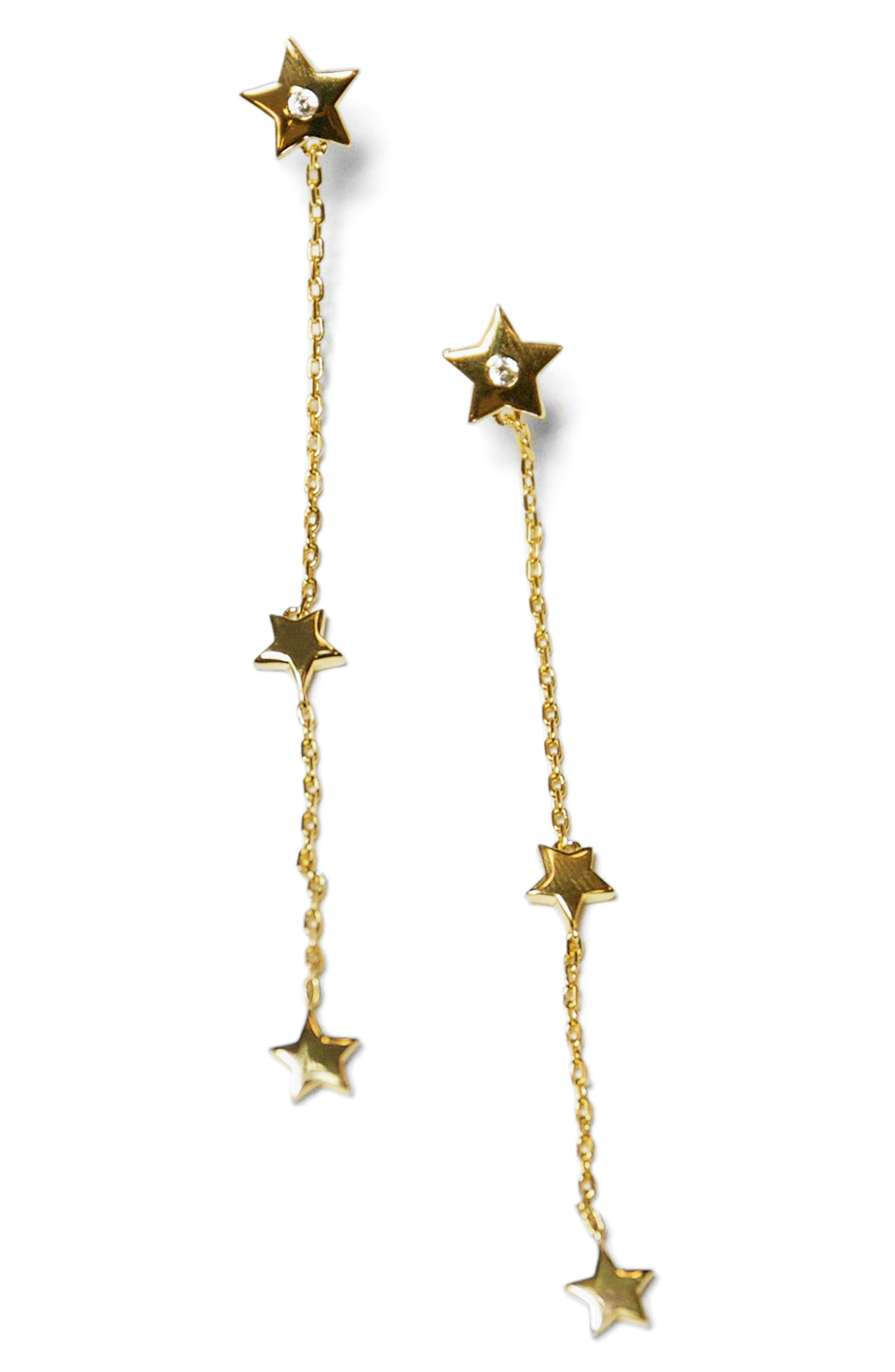 Jules Smith Star Drop Earrings