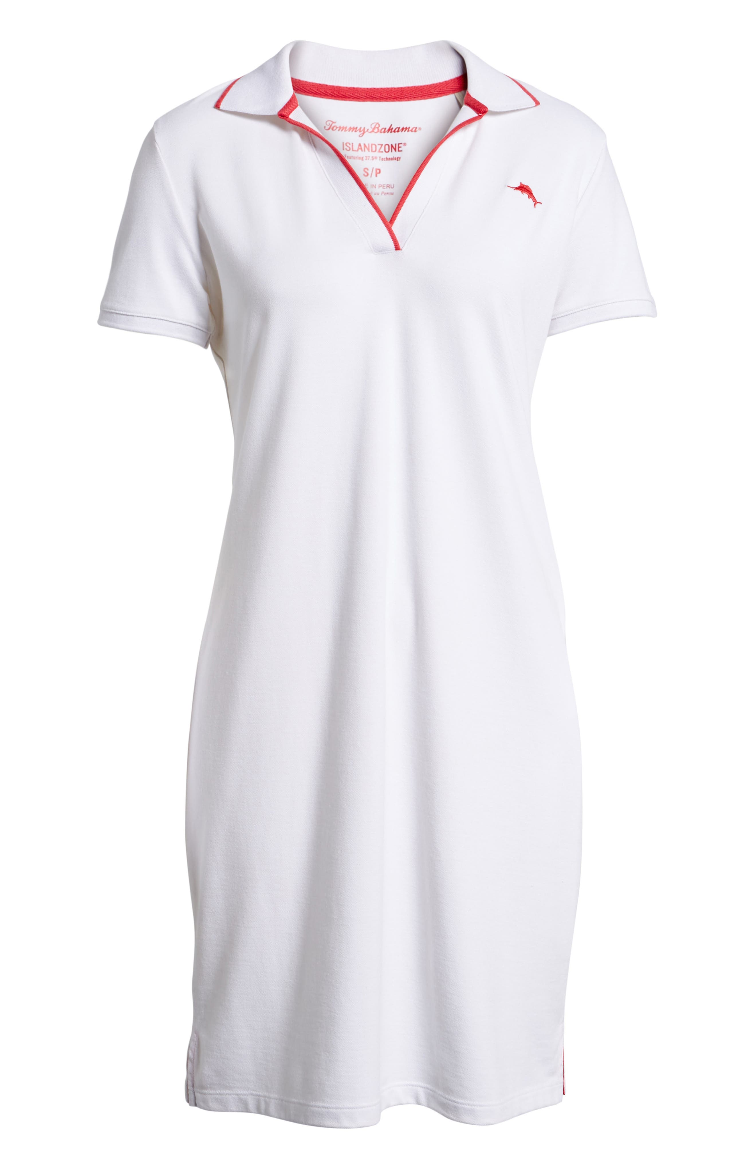 Alternate Image 6  - Tommy Bahama Tropicool Tipped Polo Dress