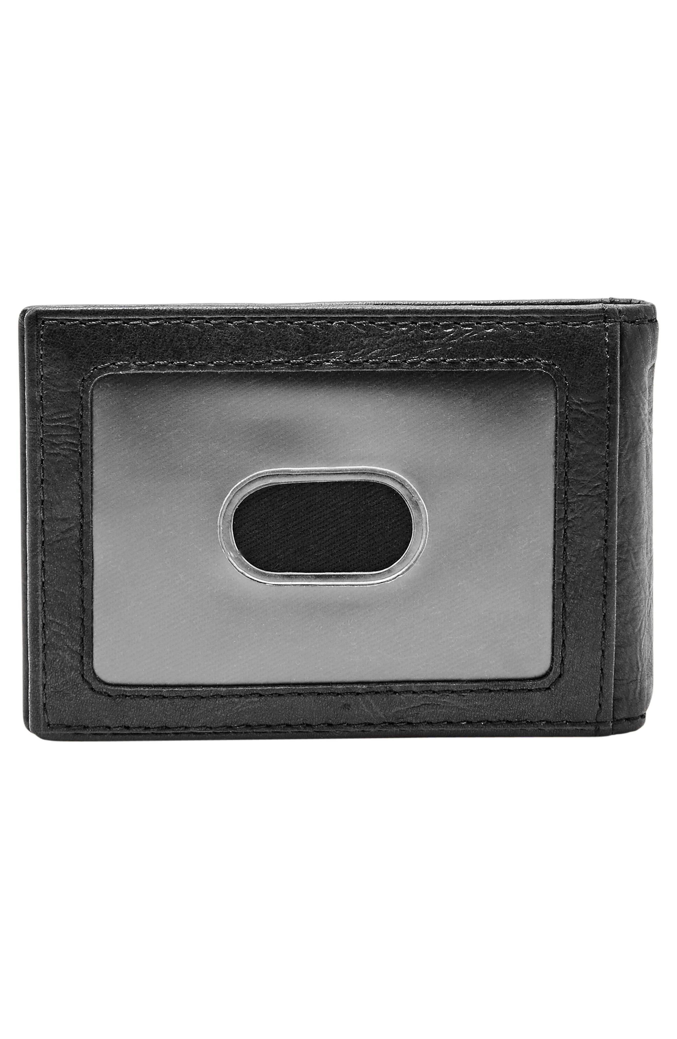 Alternate Image 3  - Fossil Neel Leather Money Clip Wallet