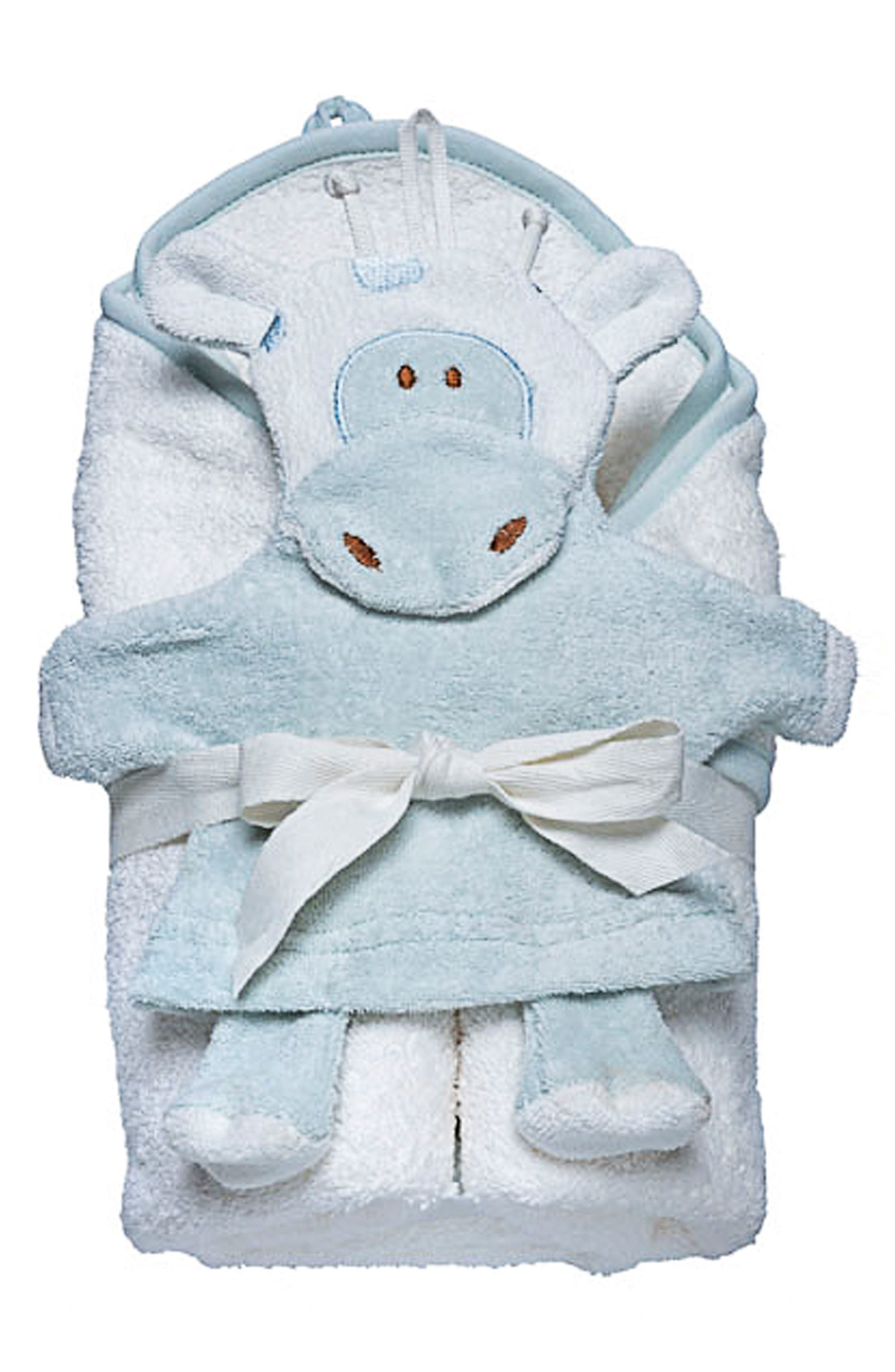 Under the Nile Hooded Towel & Bath Mitt Set
