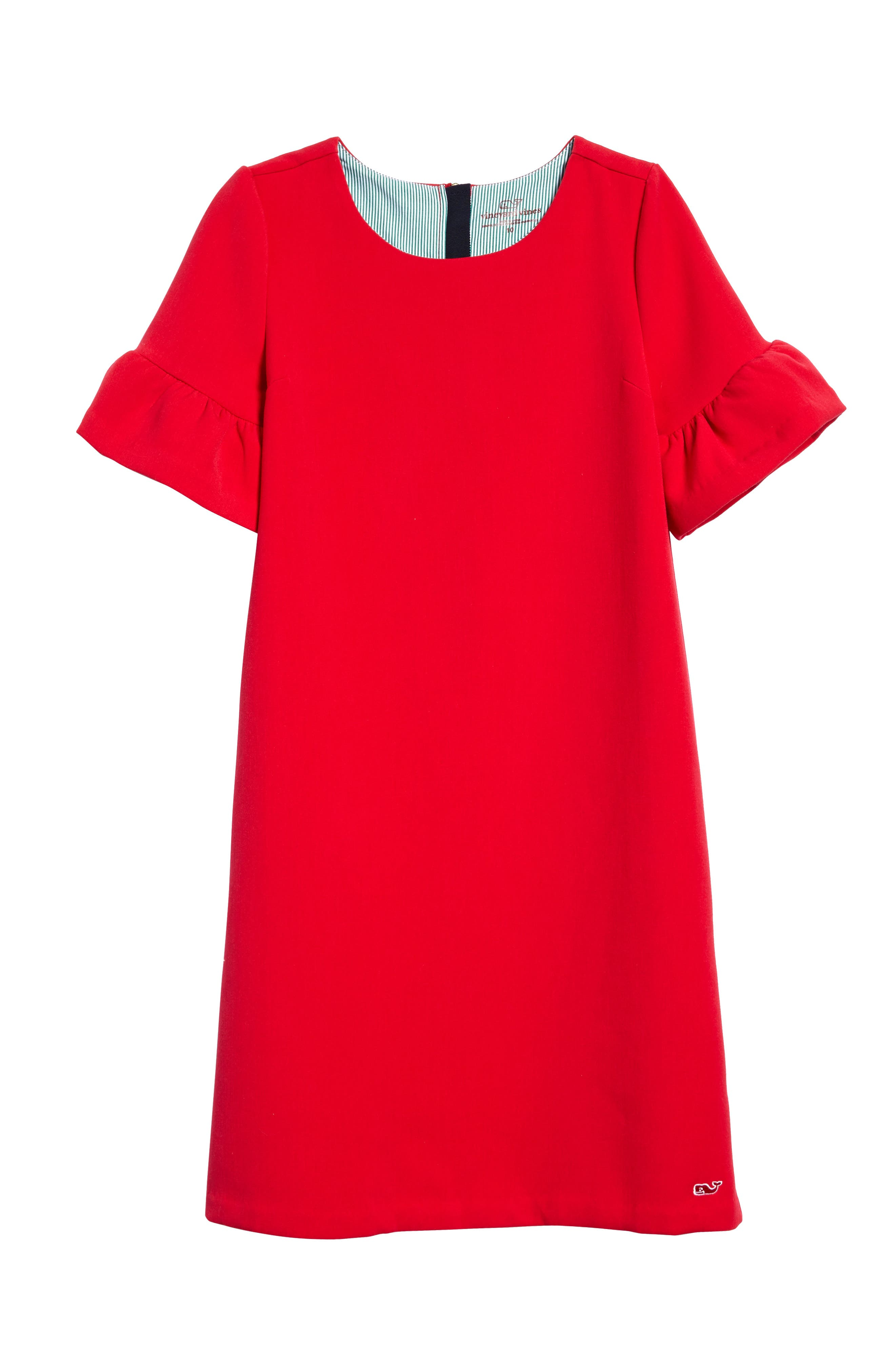 vineyard vines Bell Sleeve Party Dress (Big Girls)