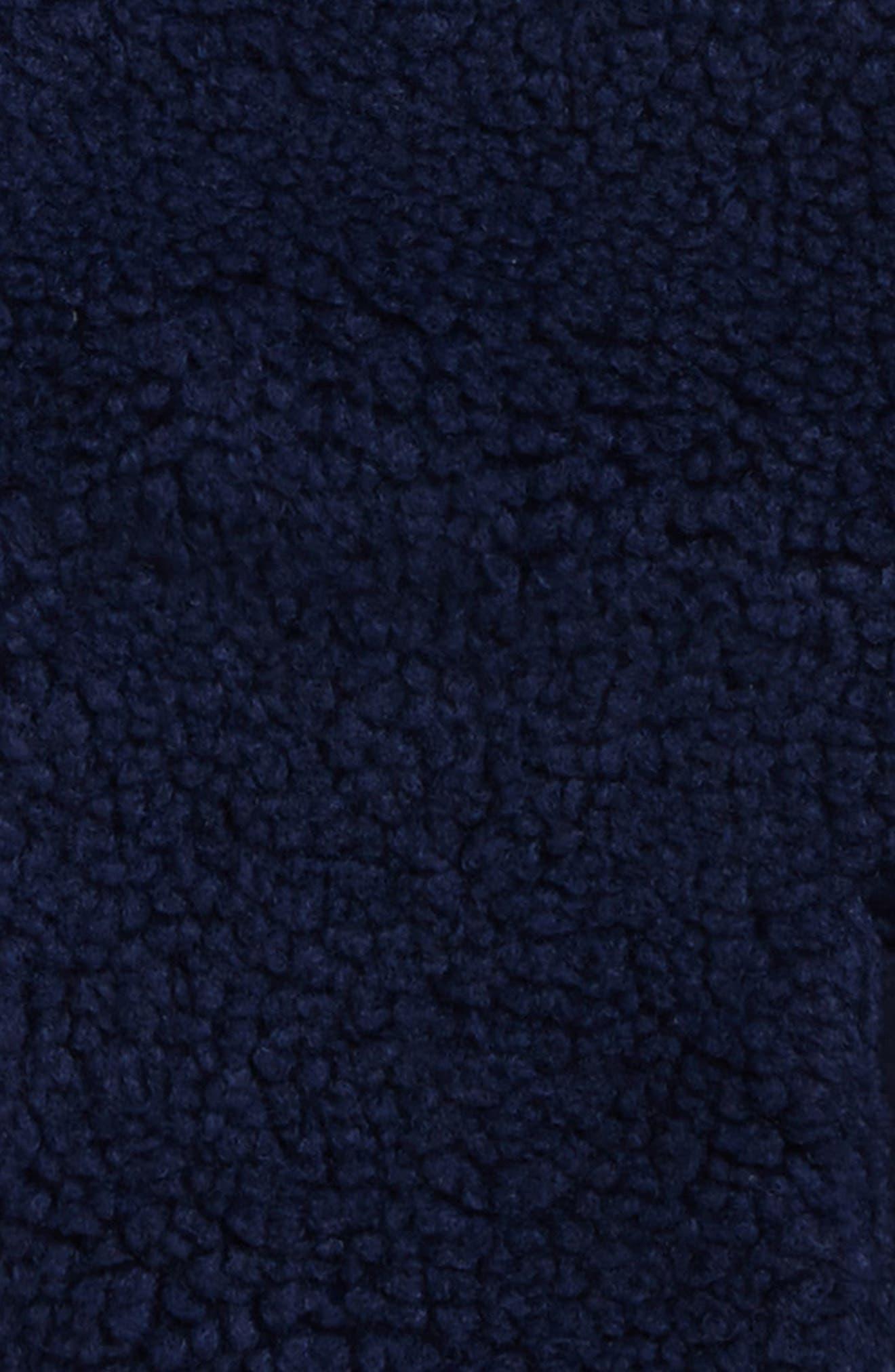 Fleece Zip Vest,                             Alternate thumbnail 2, color,                             Deep Bay