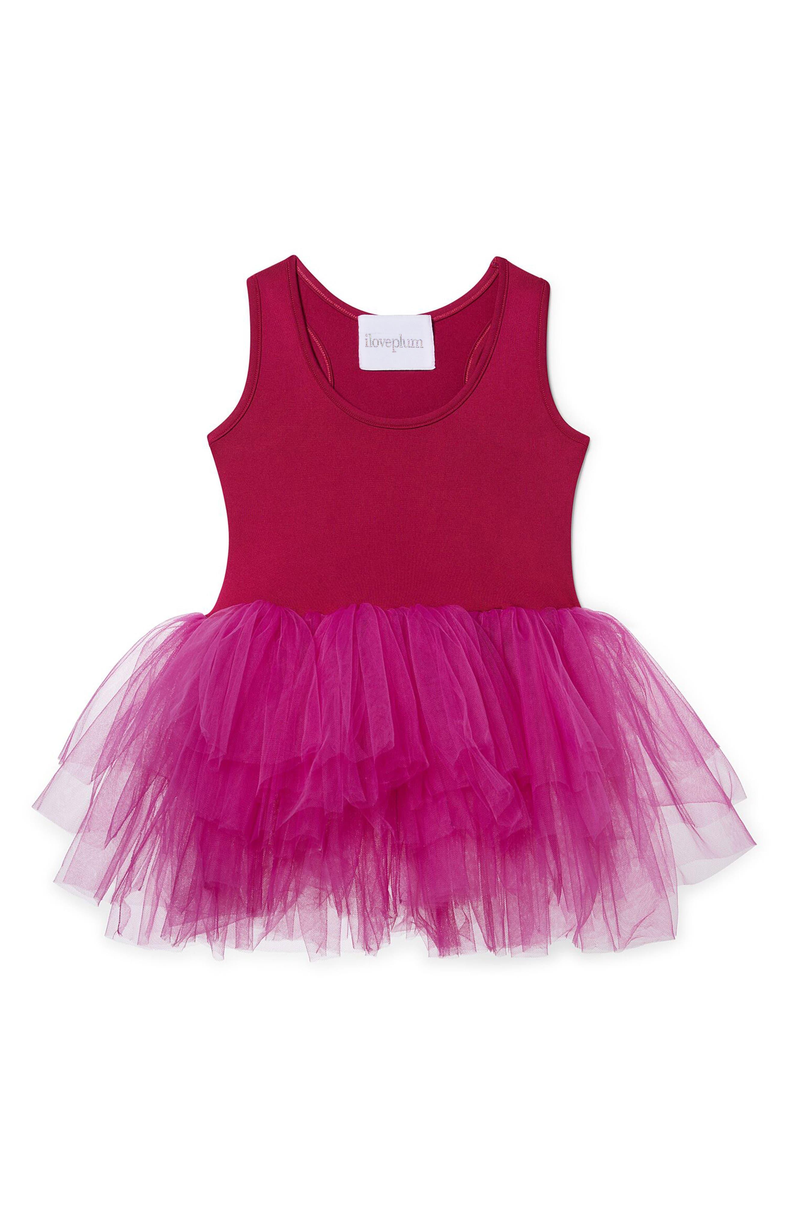 Tutu Dress,                         Main,                         color, Magenta