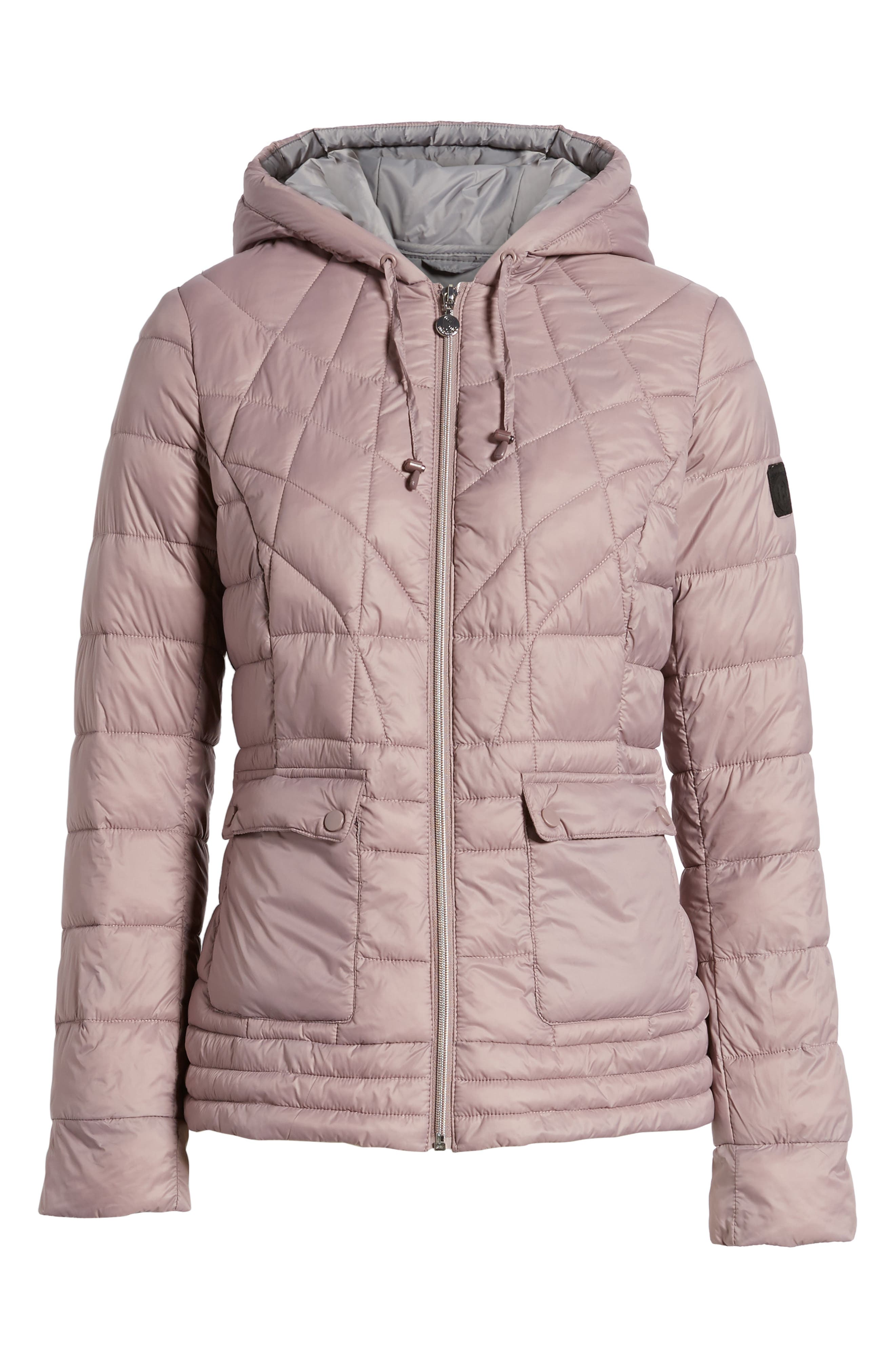 Water-Resistant PrimaLoft<sup>®</sup> Insulated Jacket,                             Alternate thumbnail 6, color,                             Rosa
