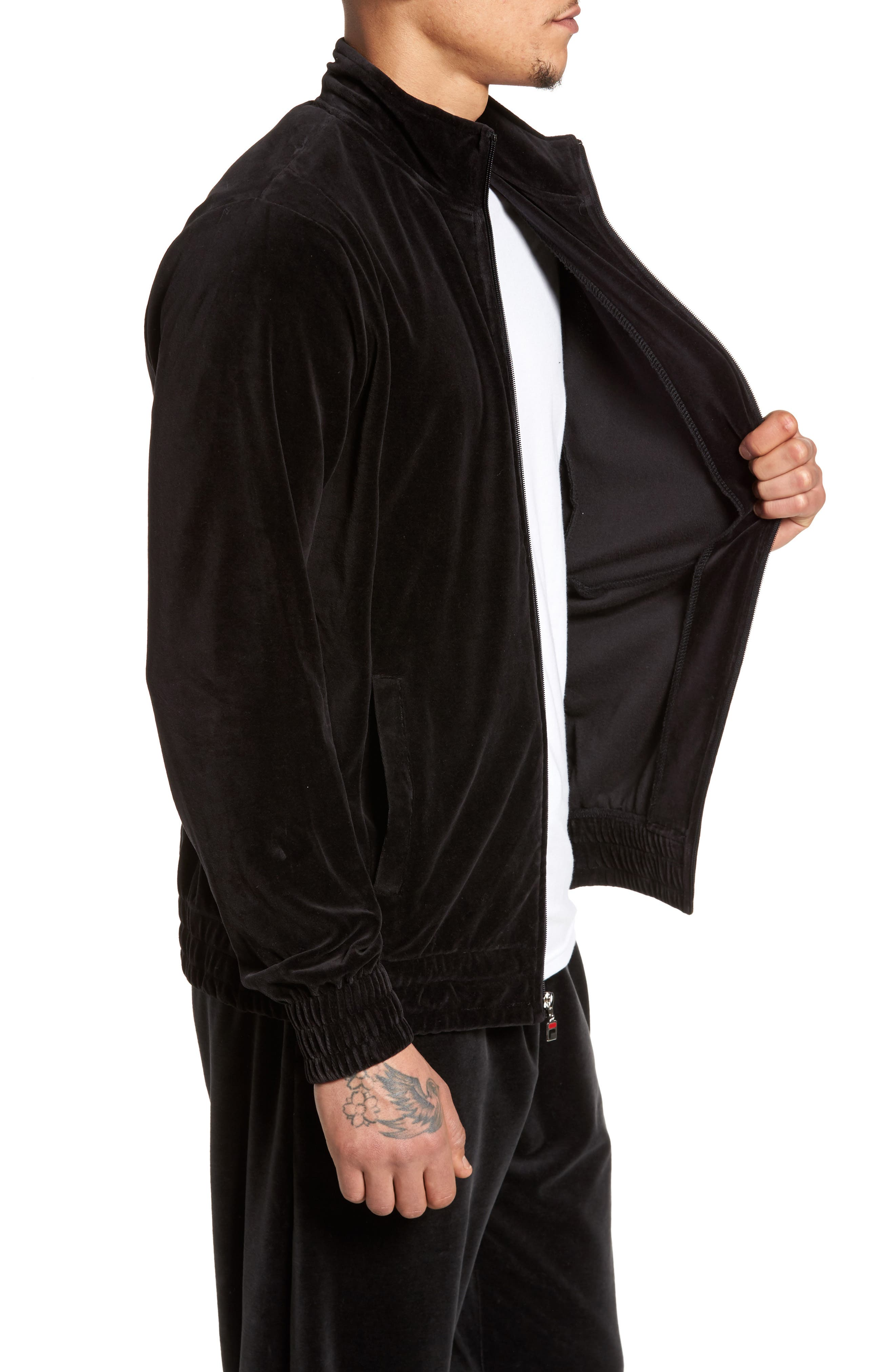Alternate Image 3  - FILA Velour Jacket