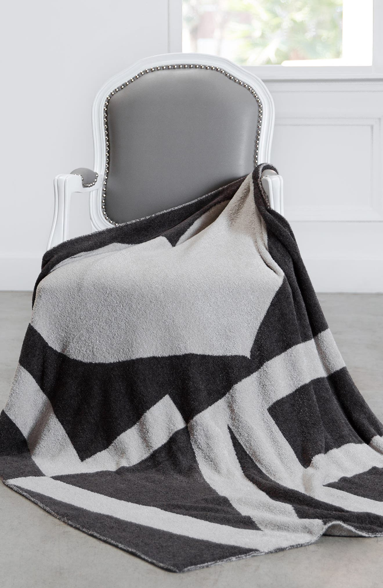 Dolce Love Throw,                             Alternate thumbnail 3, color,                             Chocolate/ Flax