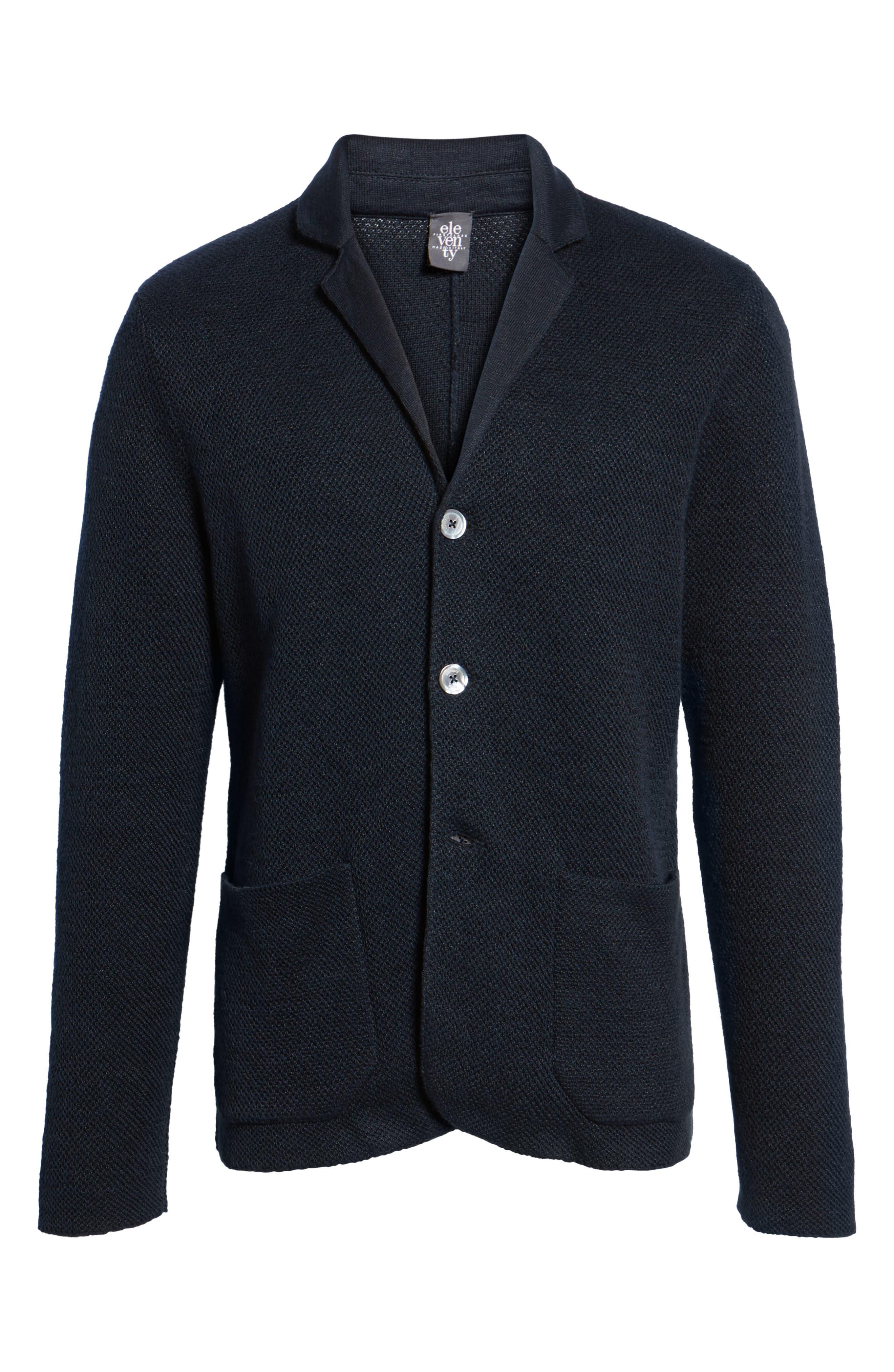 Alternate Image 6  - Eleventy Linen & Cotton Cardigan