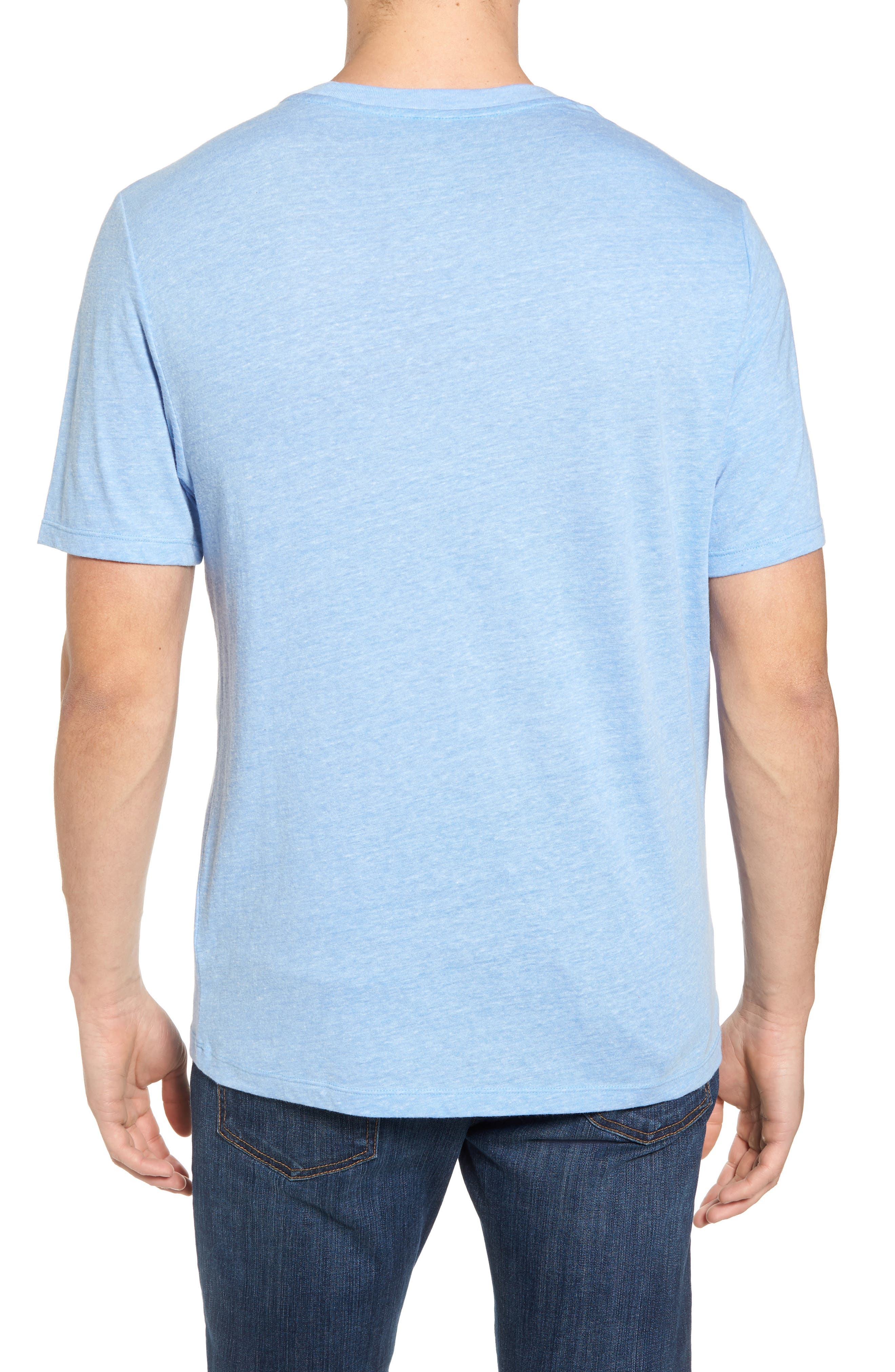 Reel Life Graphic T-Shirt,                             Alternate thumbnail 2, color,                             Dusty Blue