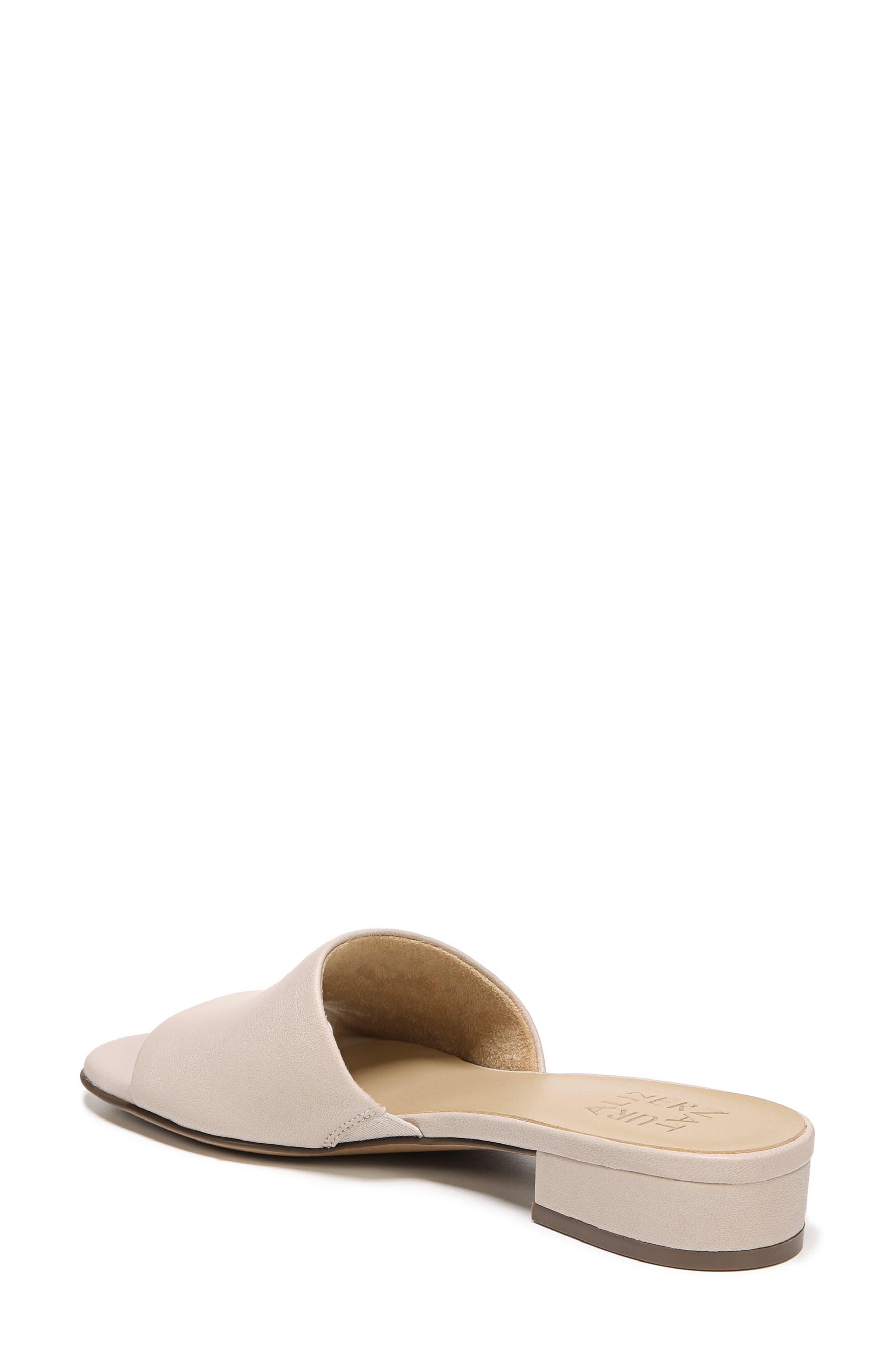 Mason Slide Sandal,                             Alternate thumbnail 2, color,                             Grey Leather