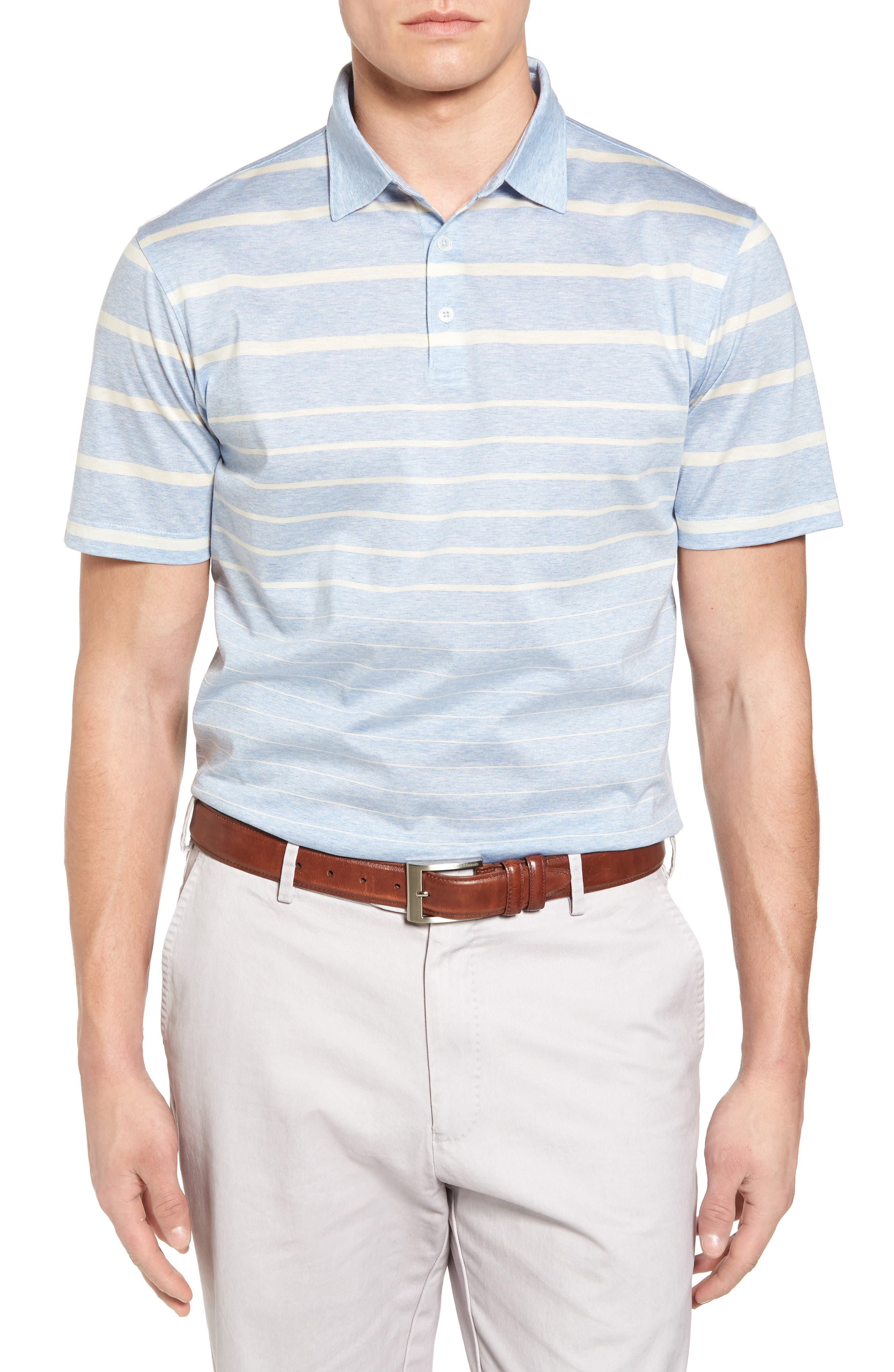 Main Image - Peter Millar Collection Summer Swells Stripe Polo
