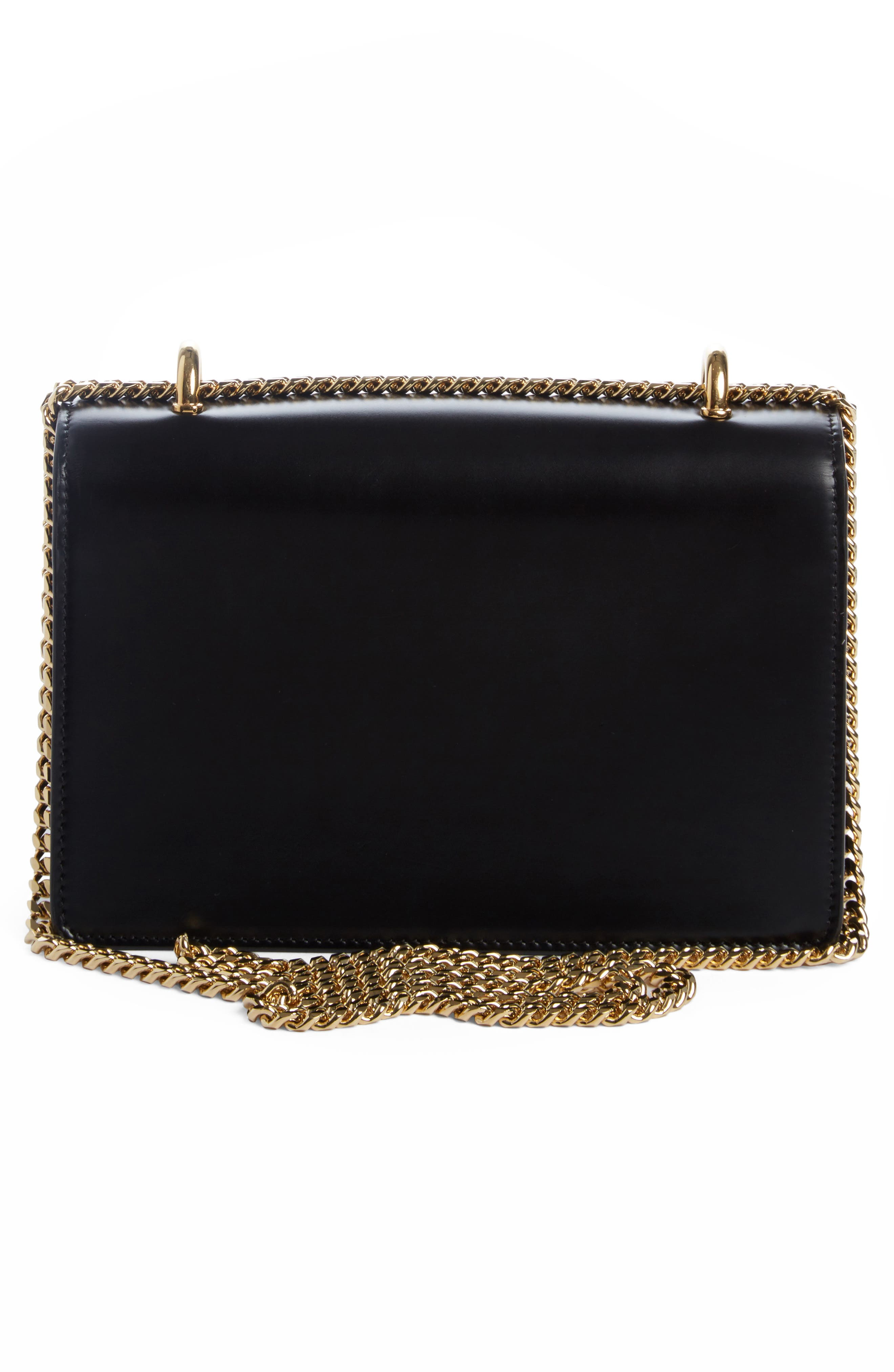Alternate Image 2  - Balmain Glace Leather Box Shoulder Bag