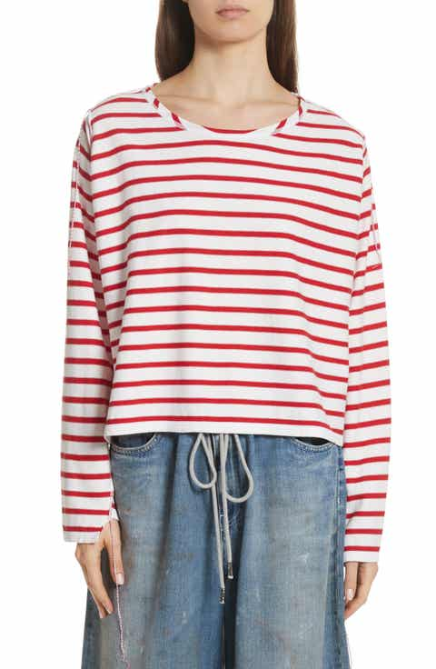 MM6 Maison Margiela Inside Out Stripe Sweater