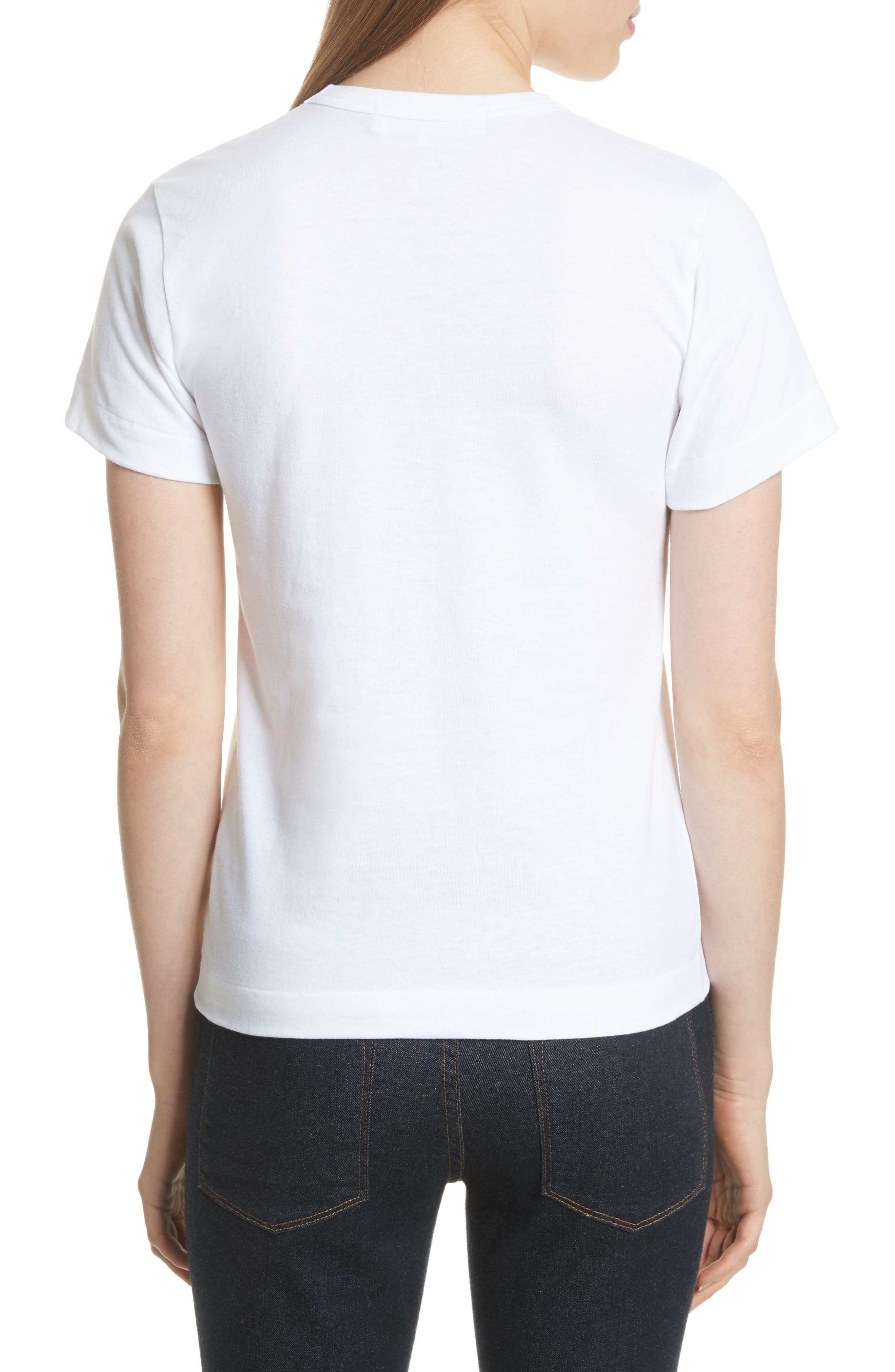 Alternate Image 2  - Comme des Garçons PLAY Logo Tee
