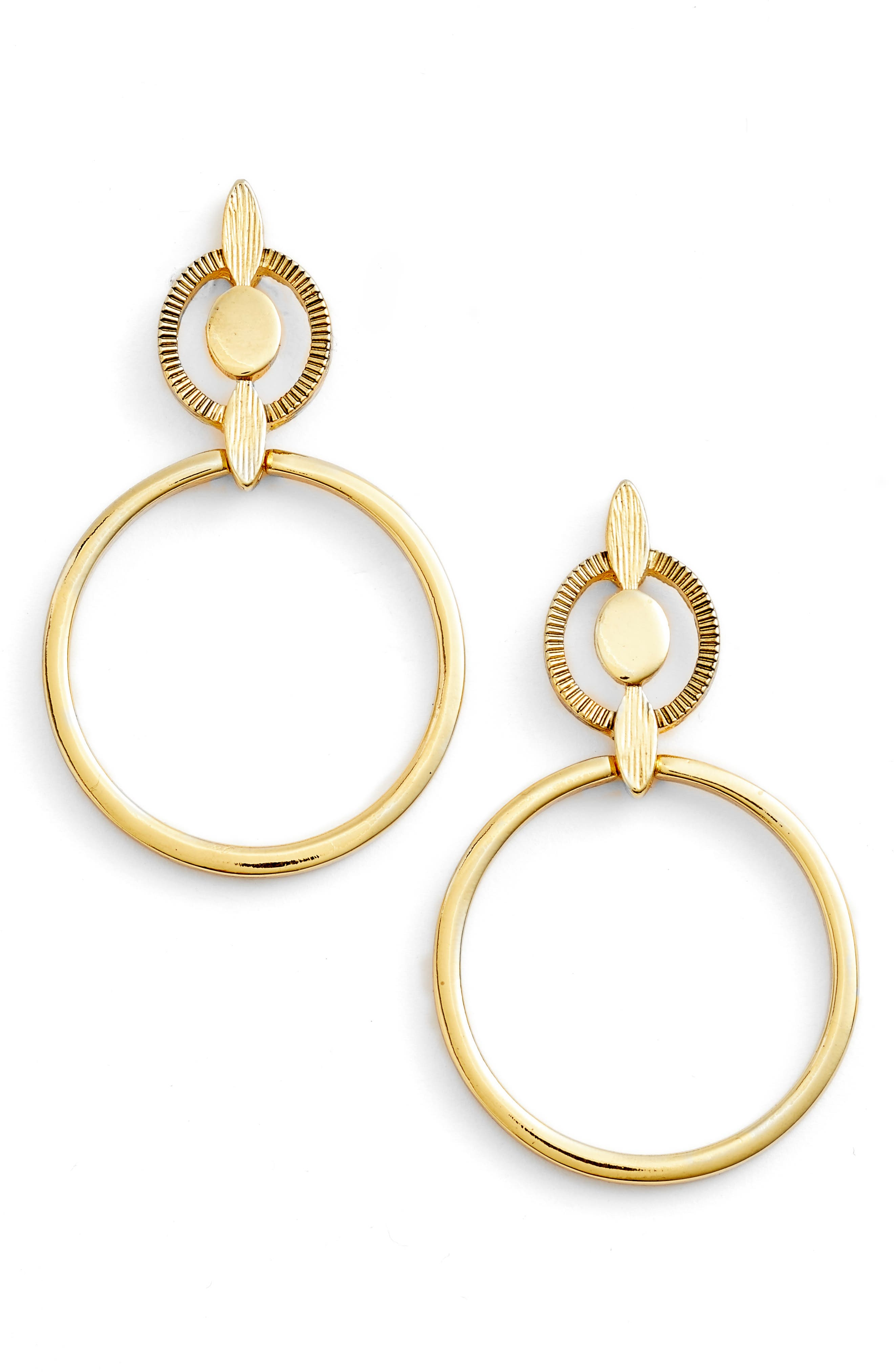 Main Image - Badgley Mischka Geometric Drop Earrings