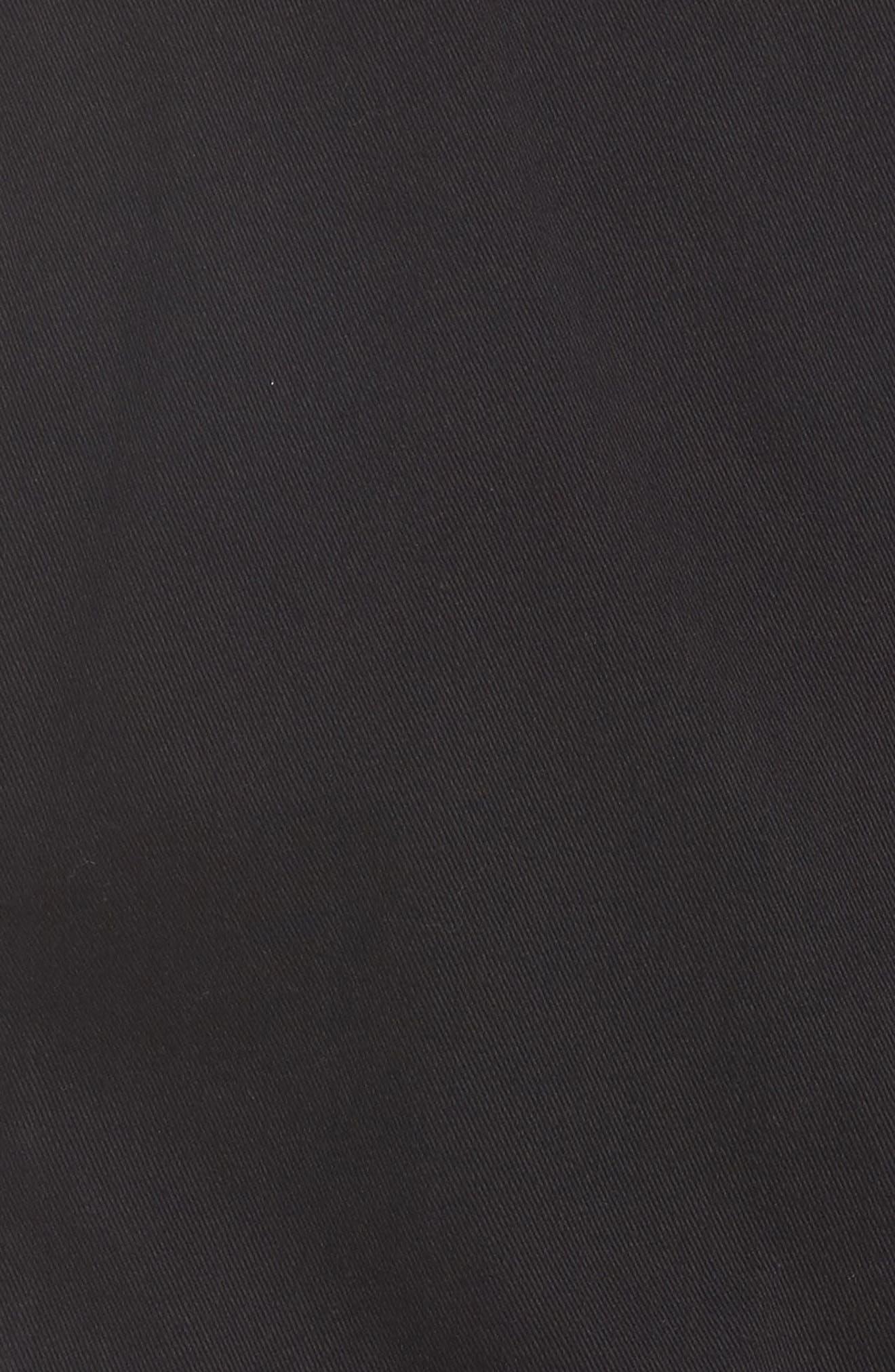 Alternate Image 5  - Liverpool Jeans Company Zip Knit Moto Jacket (Plus Size)