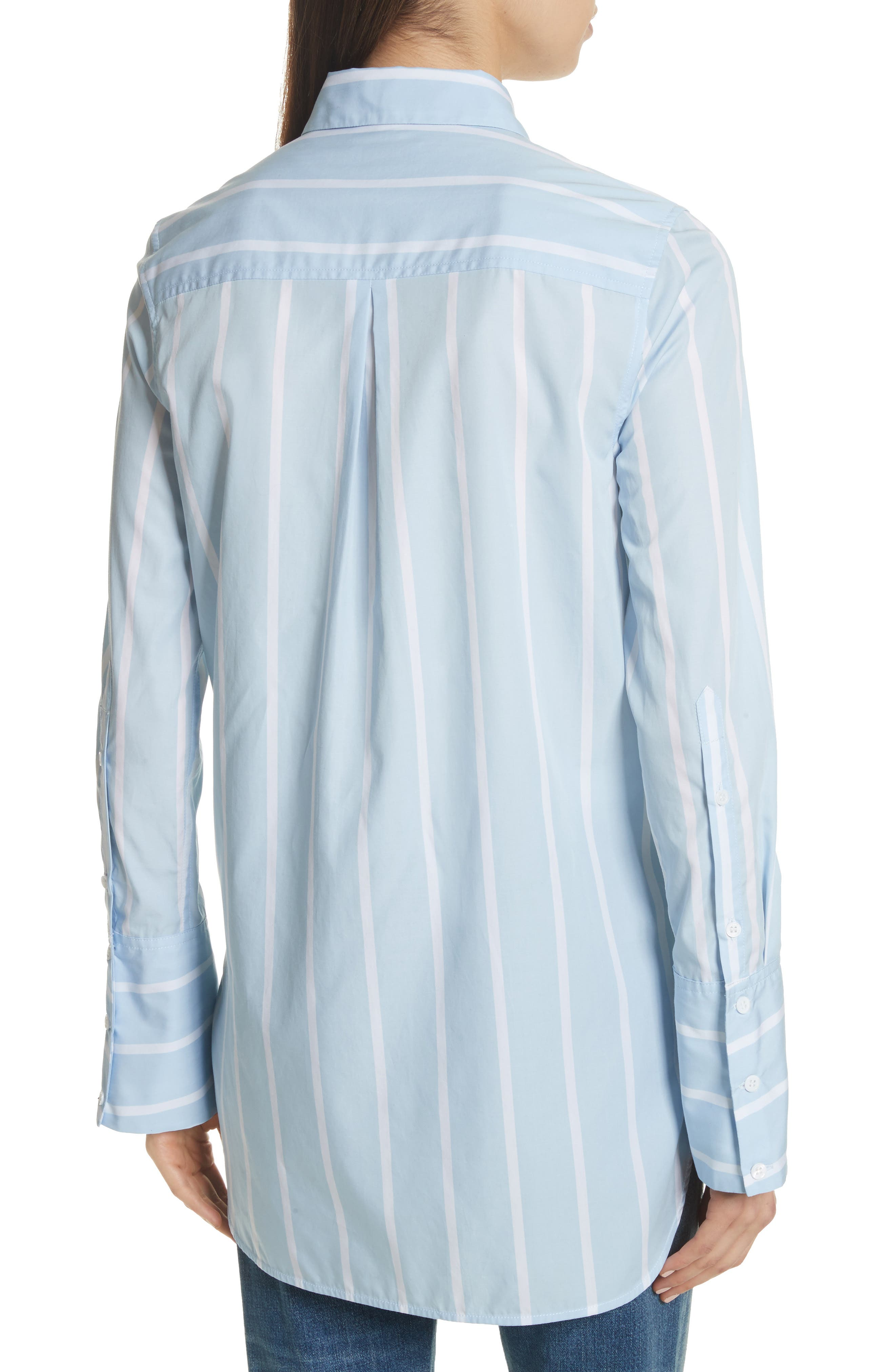 Alternate Image 2  - Equipment Arlette Stripe Cotton Shirt