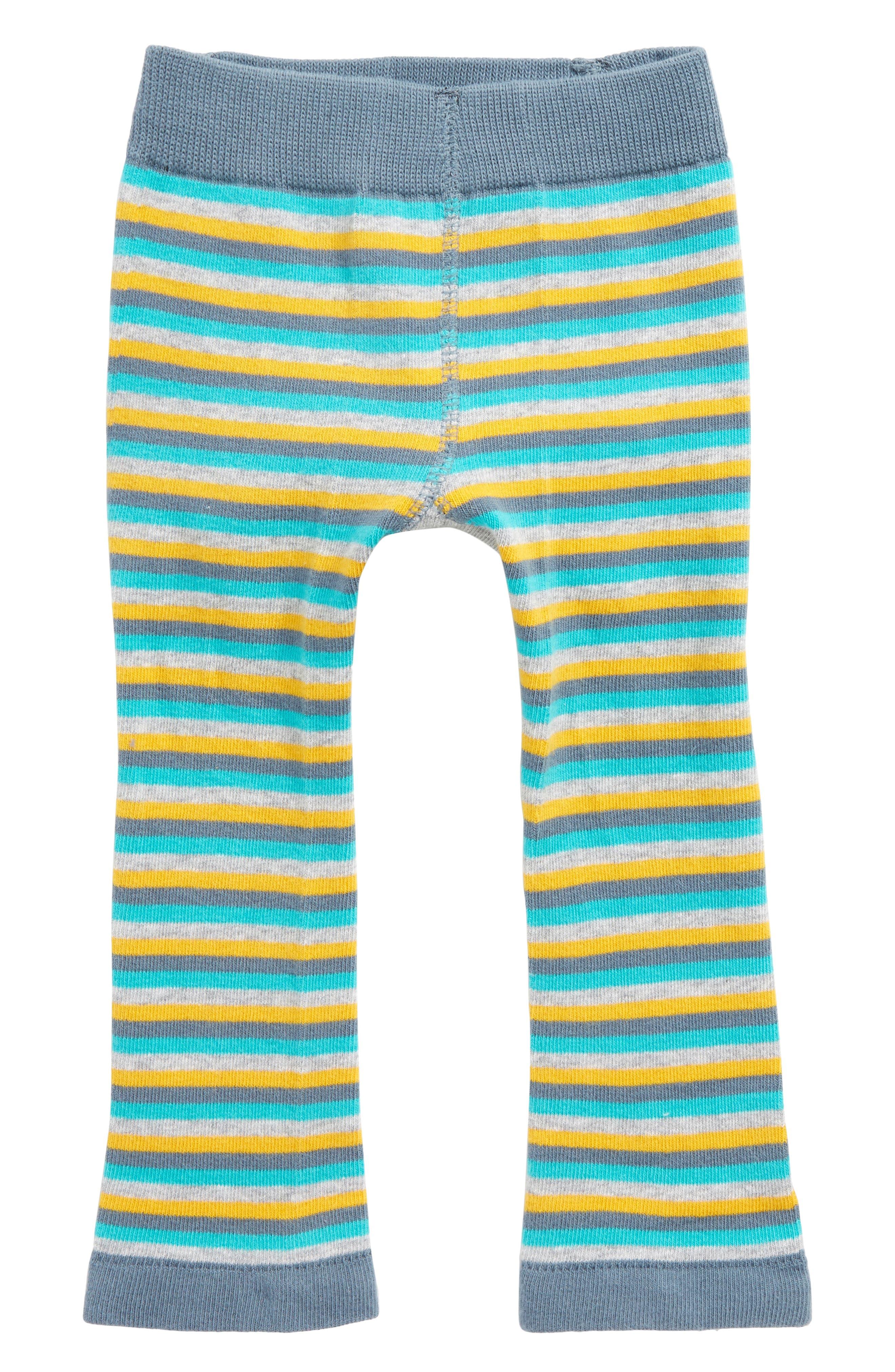Train Leggings,                             Alternate thumbnail 3, color,                             Grey / Yellow / Blue