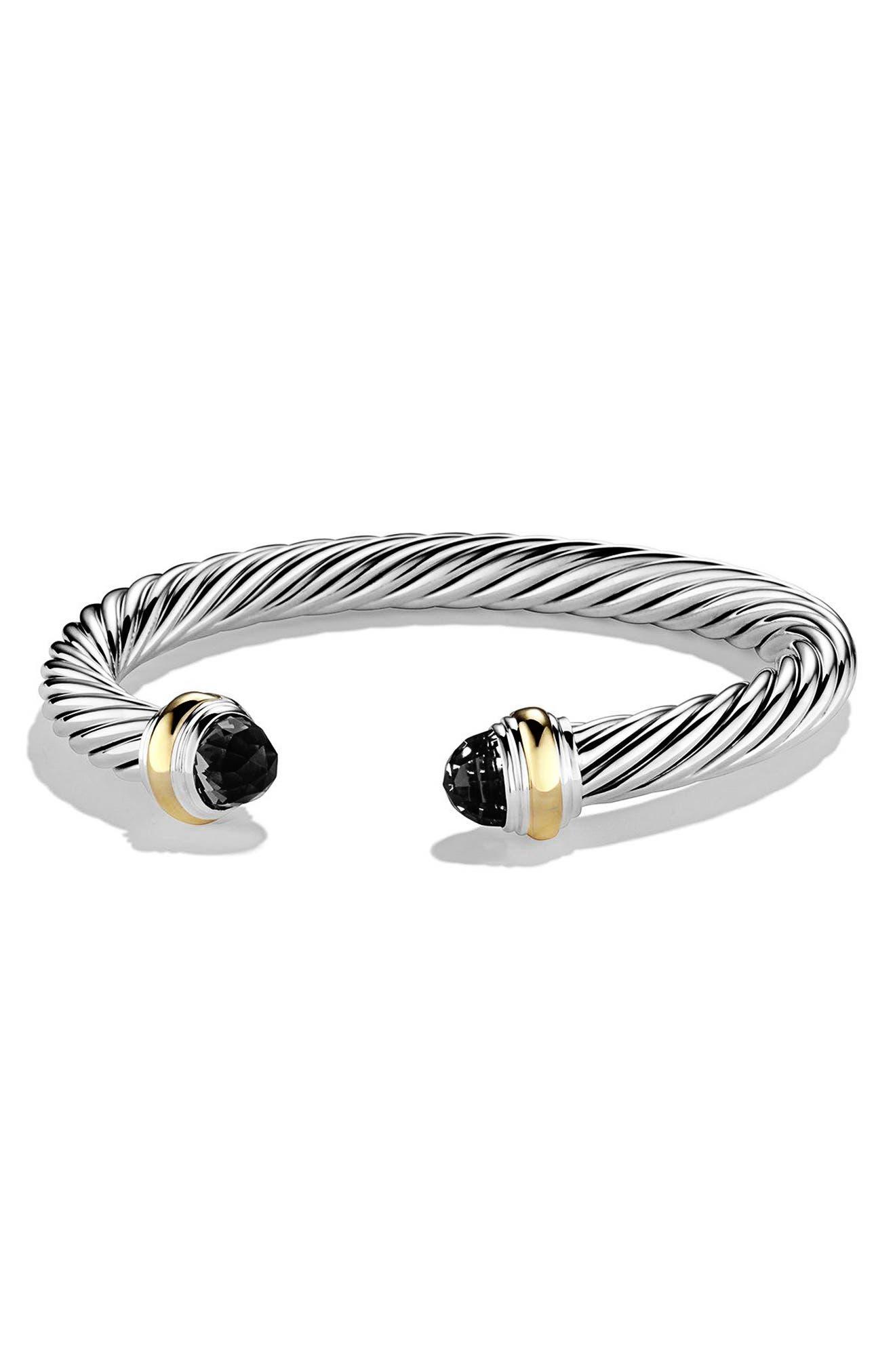 David Yurman Cable Classics Bracelet with Semiprecious Stones