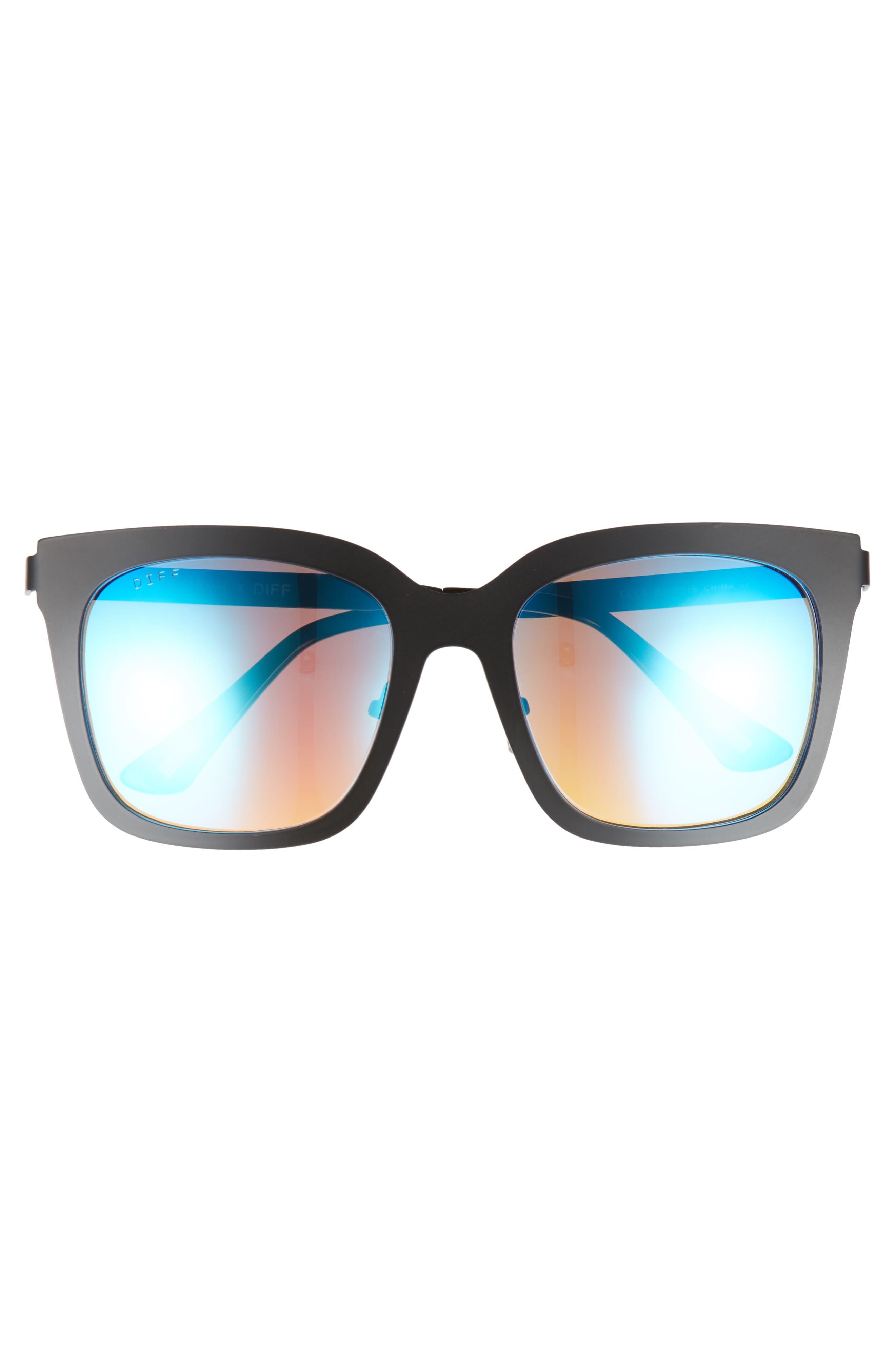 Alternate Image 4  - DIFF x Lauren Akins Ella 53mm Cat Eye Sunglasses