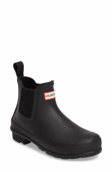 25dd92d36 Hunter Original Waterproof Chelsea Rain Boot (Women)