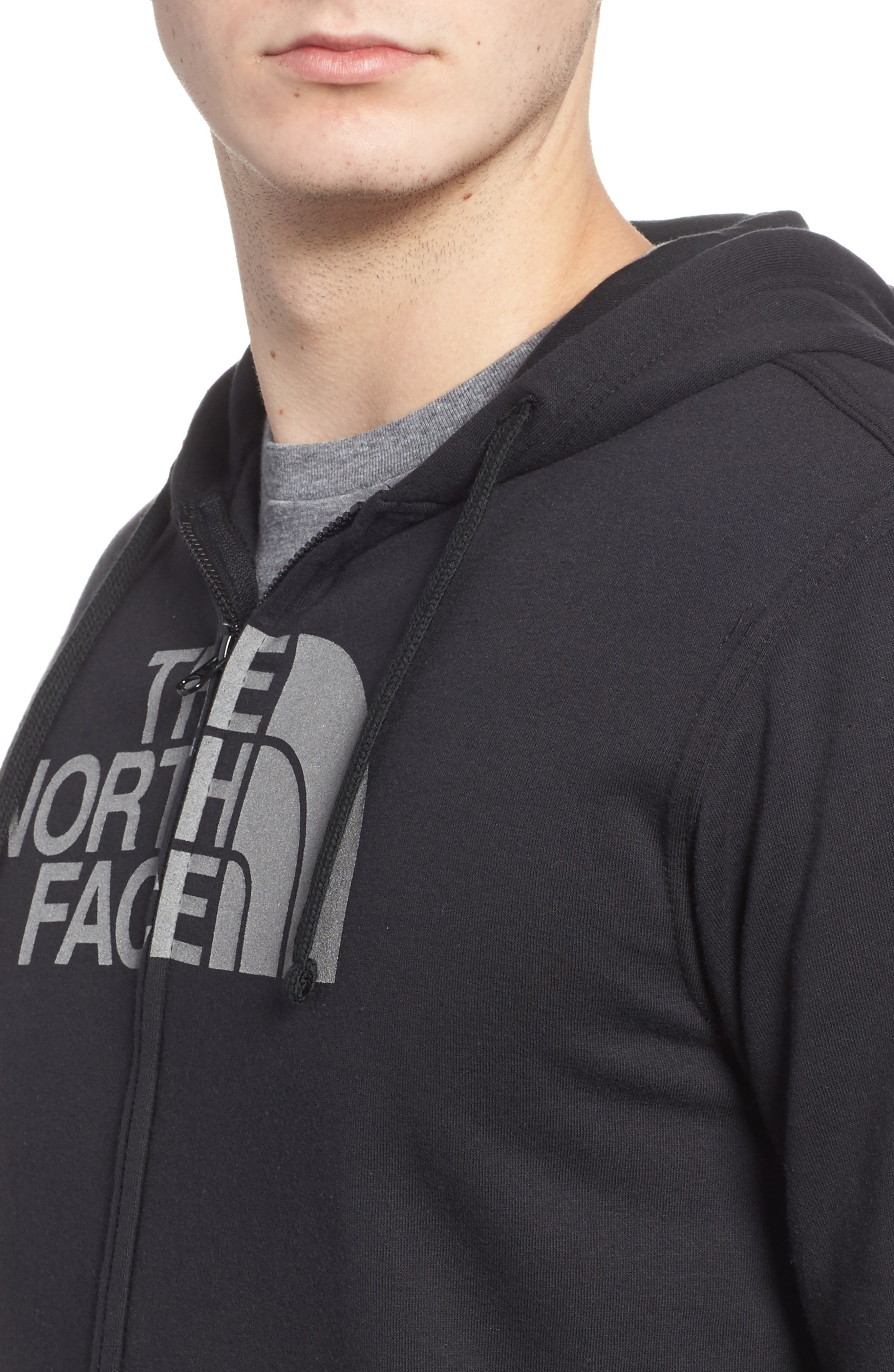 Alternate Image 4  - The North Face Half Dome Cotton Blend Zip Hoodie