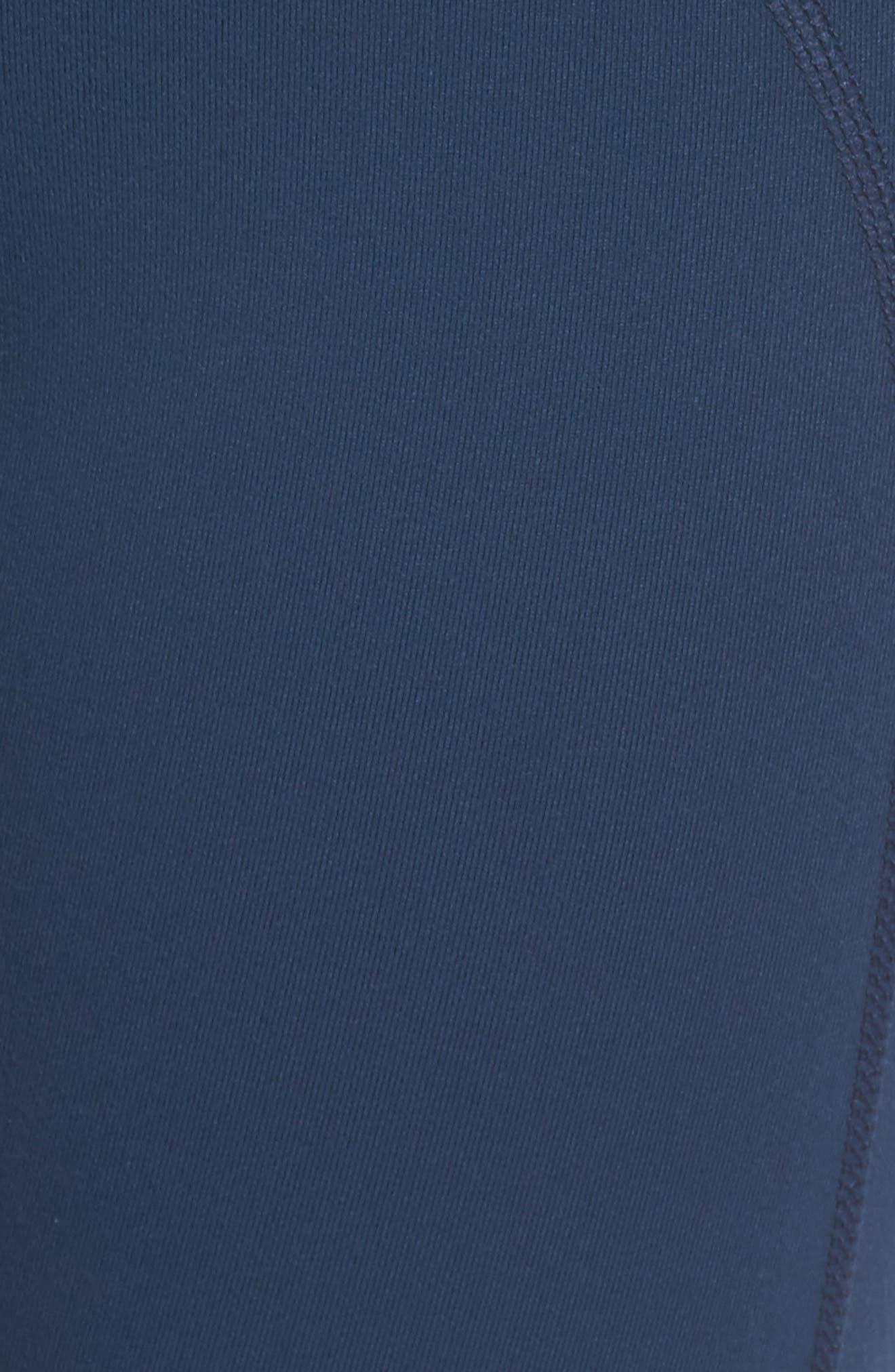Alternate Image 5  - Zella Vertigo Crop Leggings