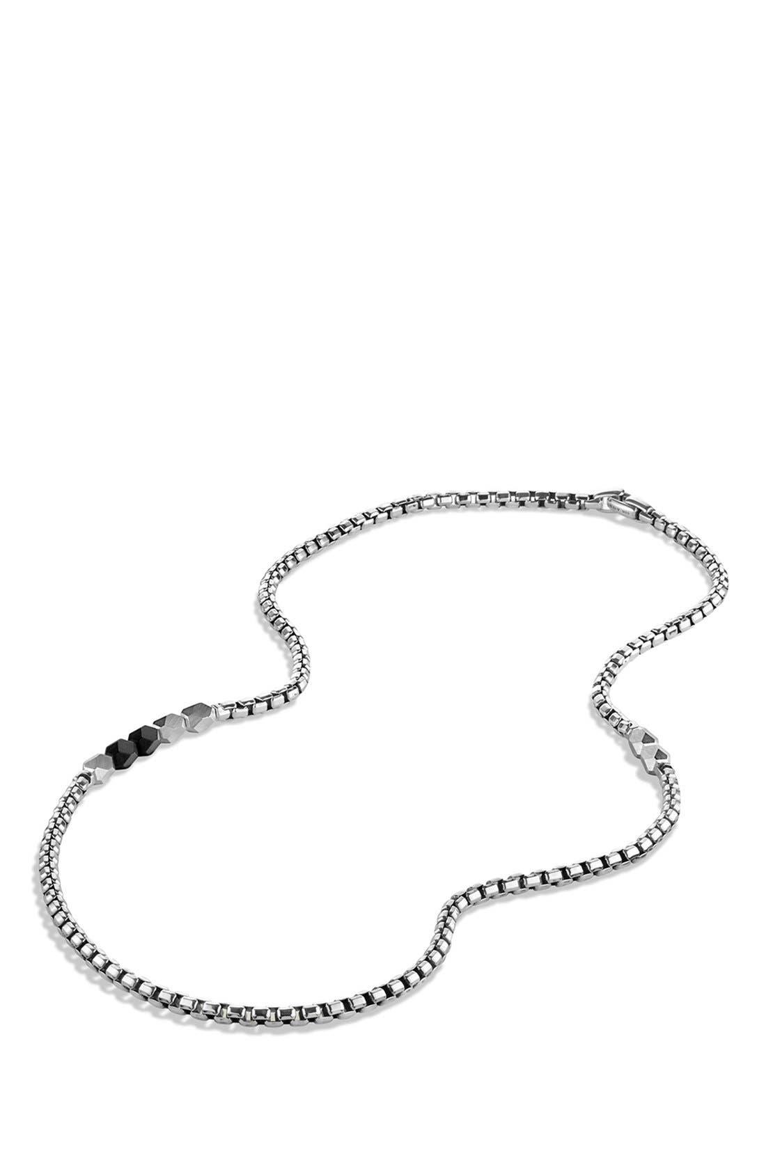 Alternate Image 2  - David Yurman 'Faceted' Metal Necklace