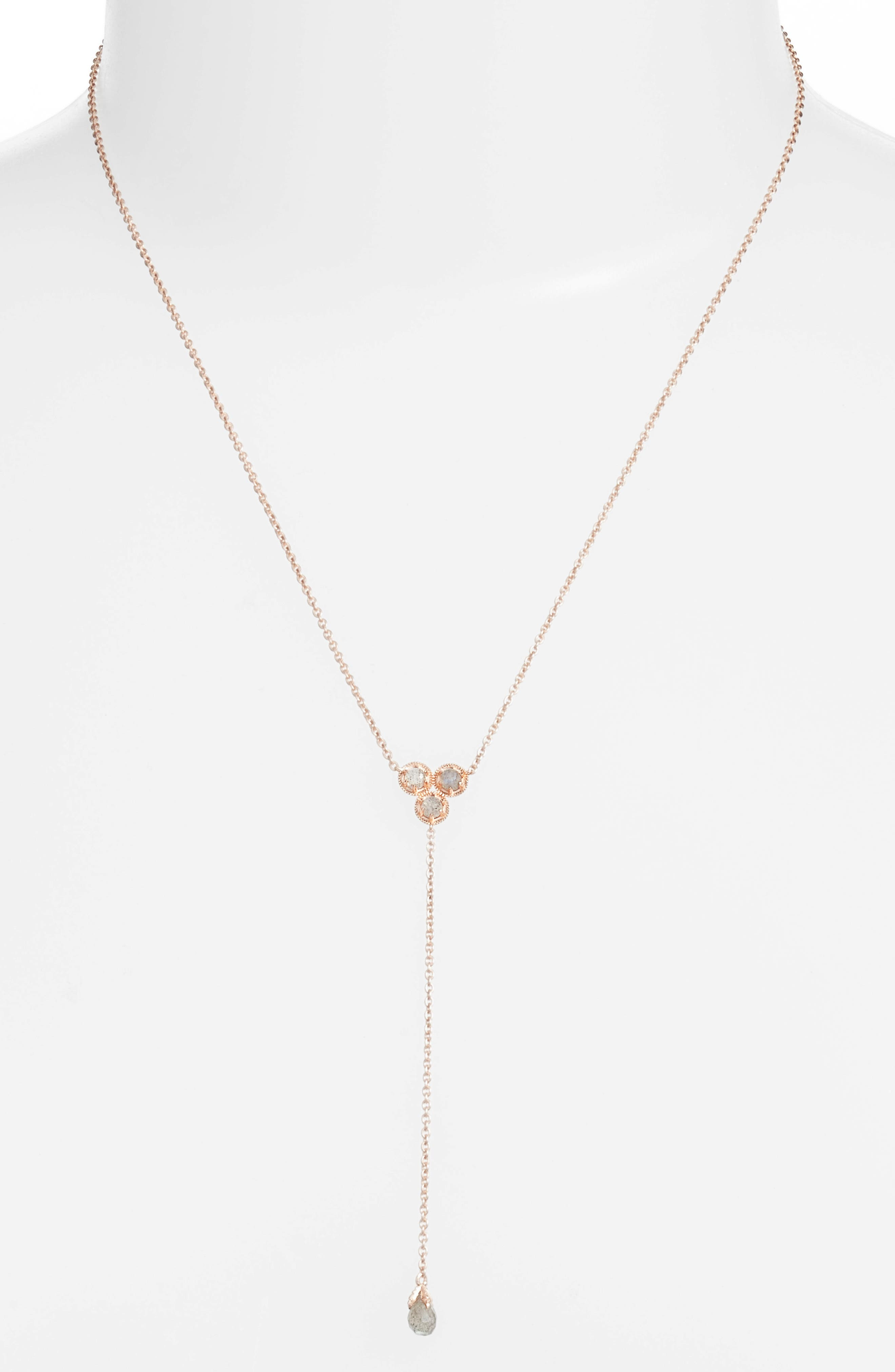Alternate Image 1 Selected - Nadri Cleo Semiprecious Stone Necklace