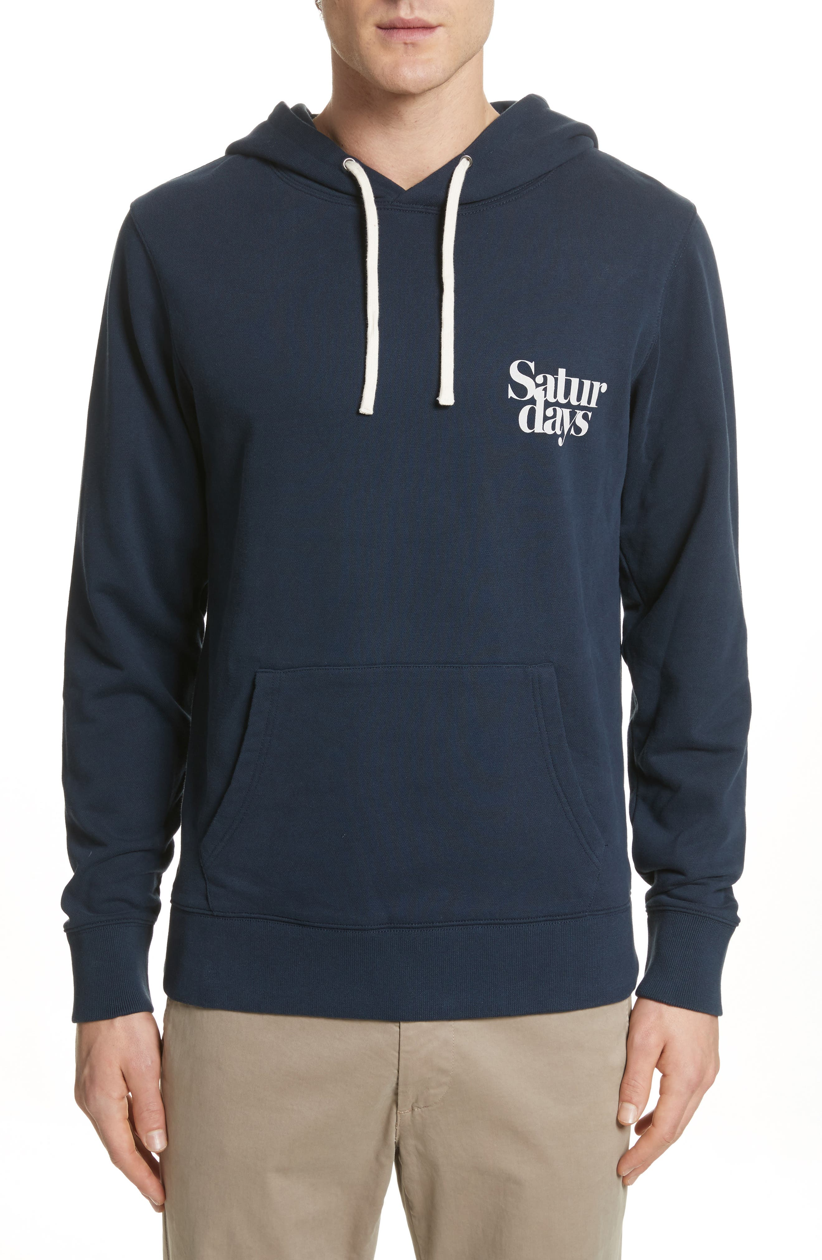 Ditch Miller Hoodie,                         Main,                         color, Midnight