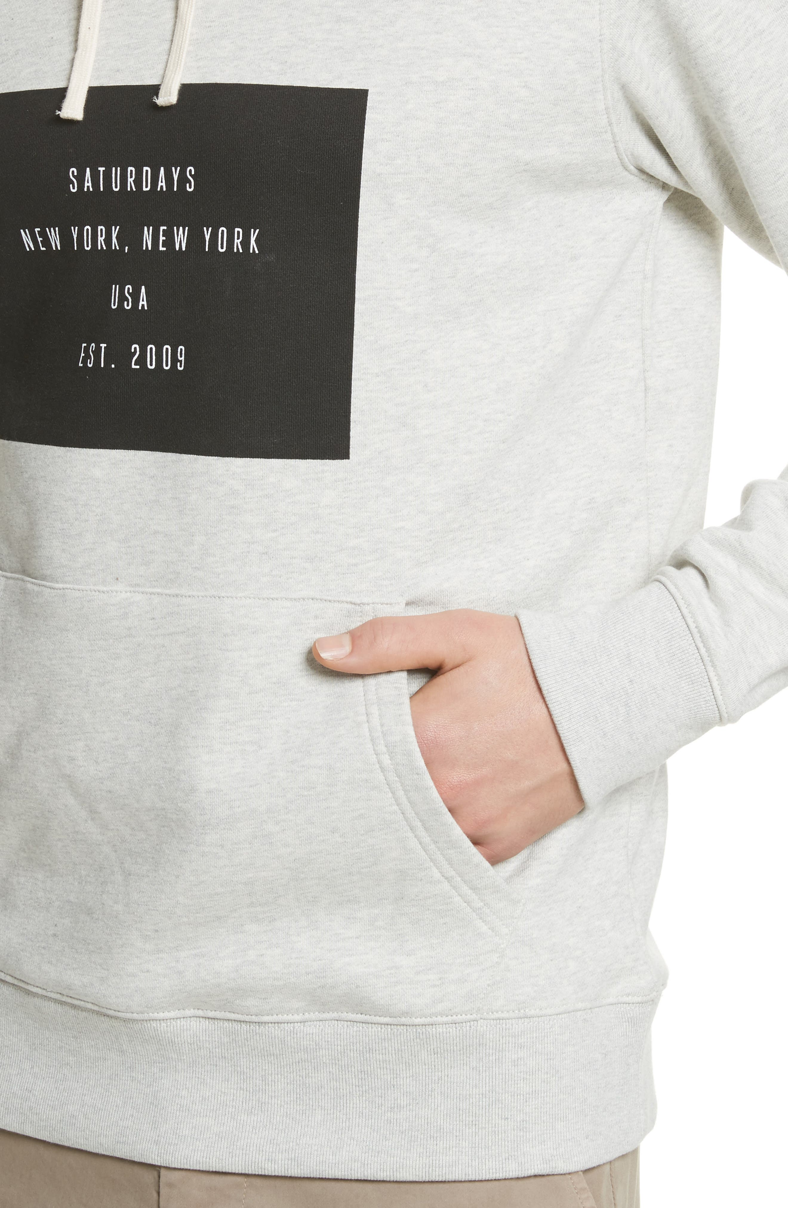 Ditch Graphic Hoodie,                             Alternate thumbnail 4, color,                             Natural Heather