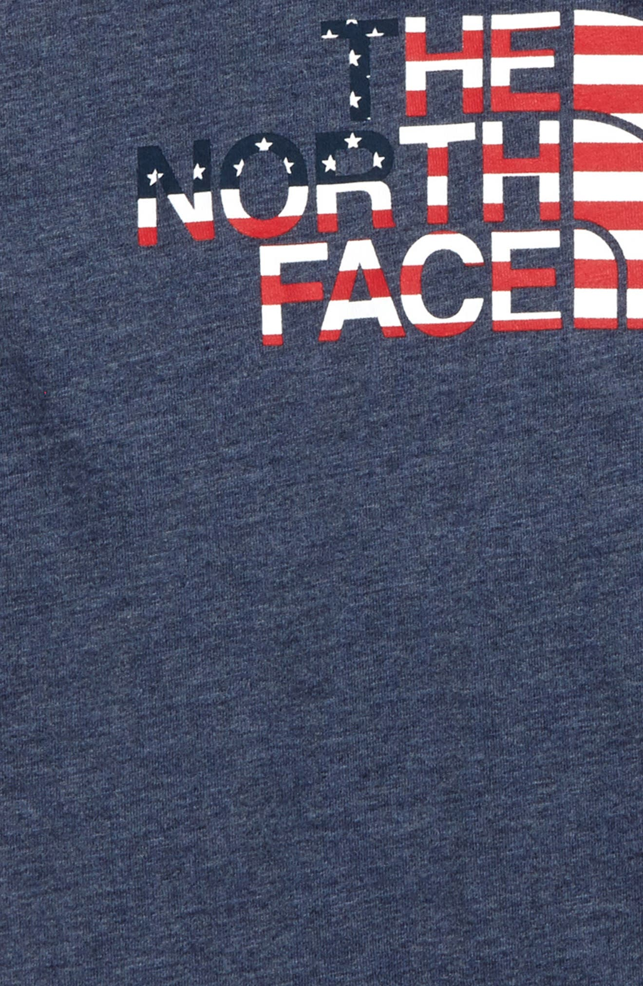 Alternate Image 2  - The North Face Logo Tee (Big Girls)