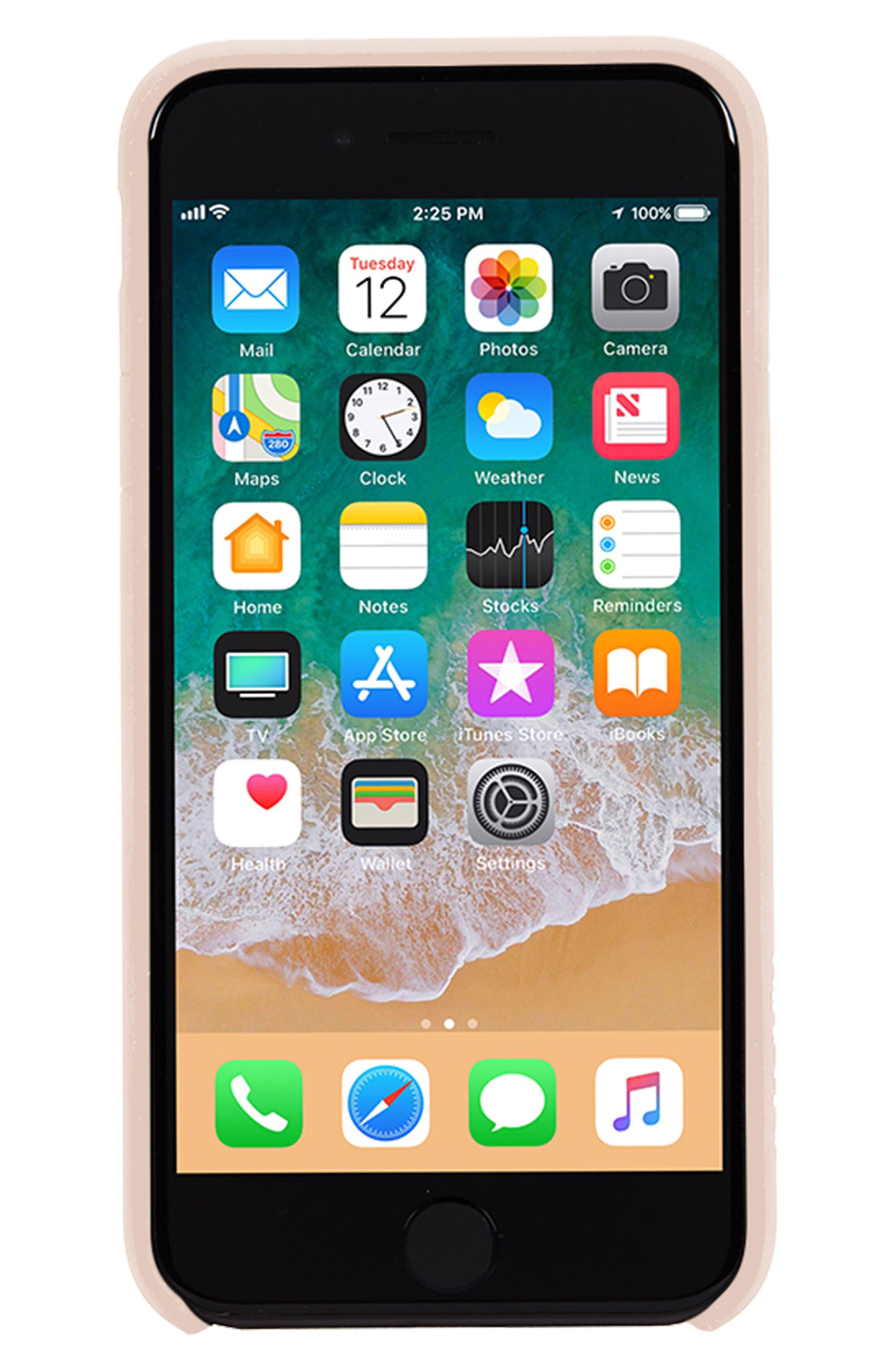 Facet iPhone 7/8 Case,                             Alternate thumbnail 2, color,                             Rose Gold