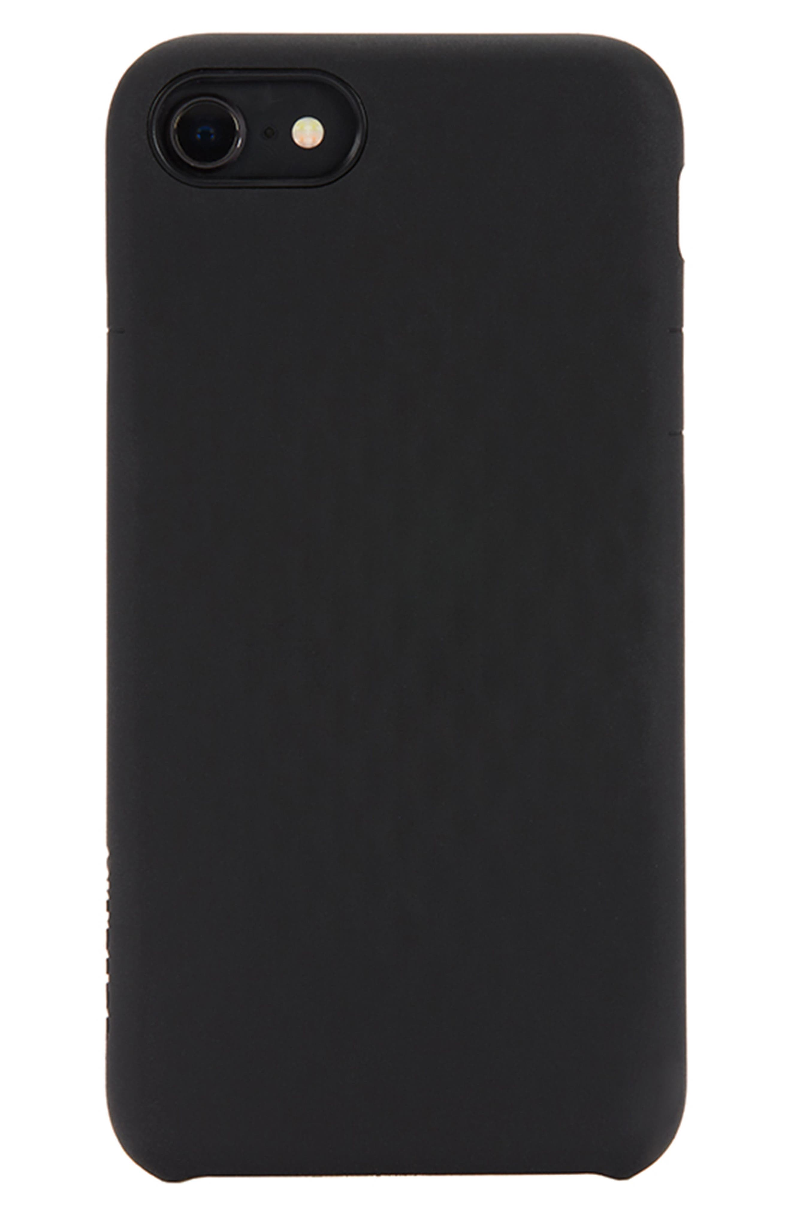 Facet iPhone 7/8 Case,                             Main thumbnail 1, color,                             Black