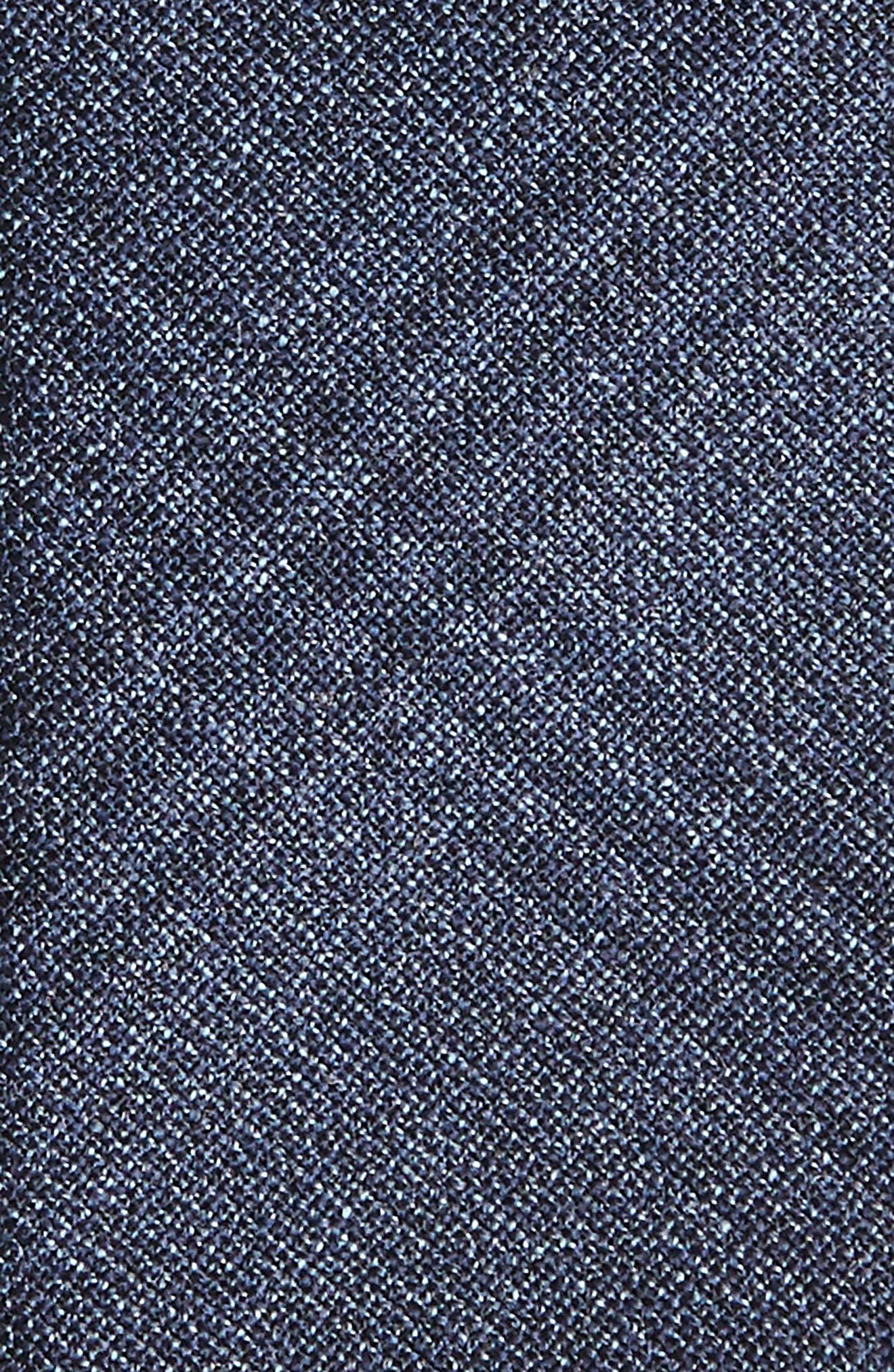 Plaid Wool Tie,                             Alternate thumbnail 2, color,                             Grey