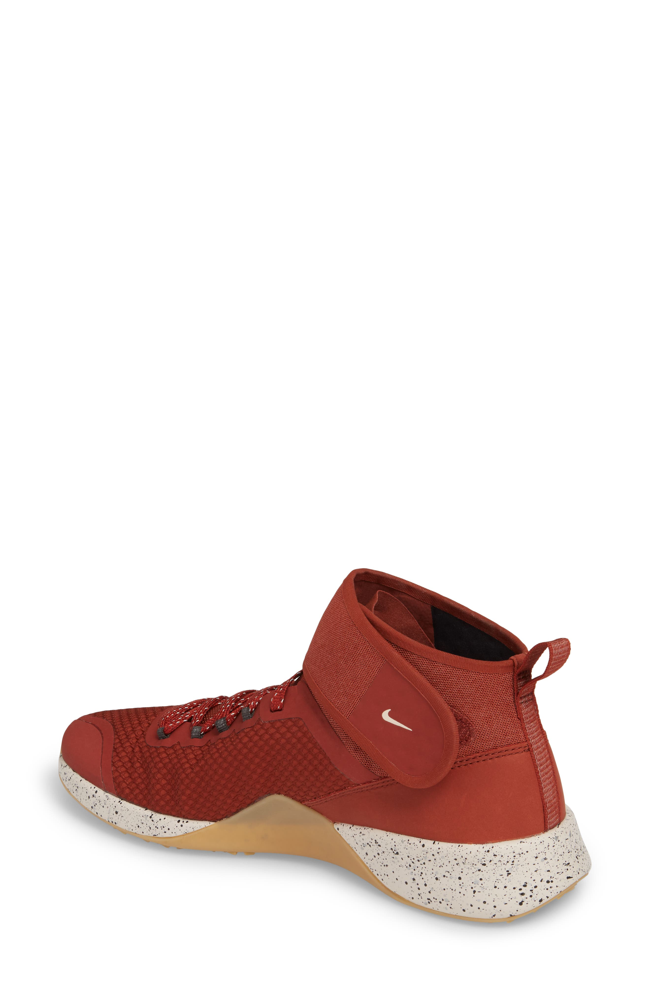 NikeLab Air Zoom Strong 2 Training Shoe,                             Alternate thumbnail 2, color,                             Red/ Red