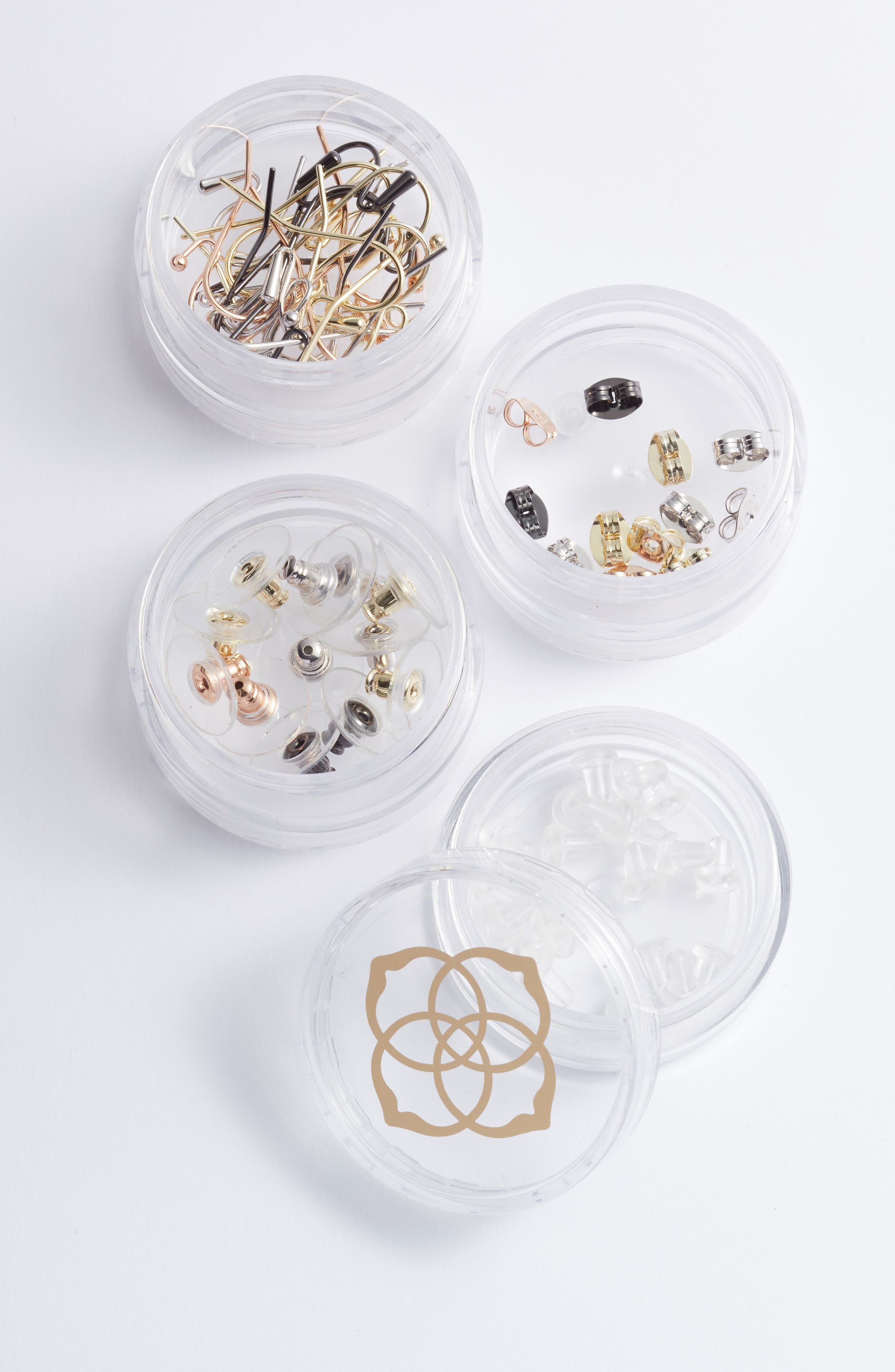 The Essentials Earring Supply Kit,                             Alternate thumbnail 2, color,                             Clear