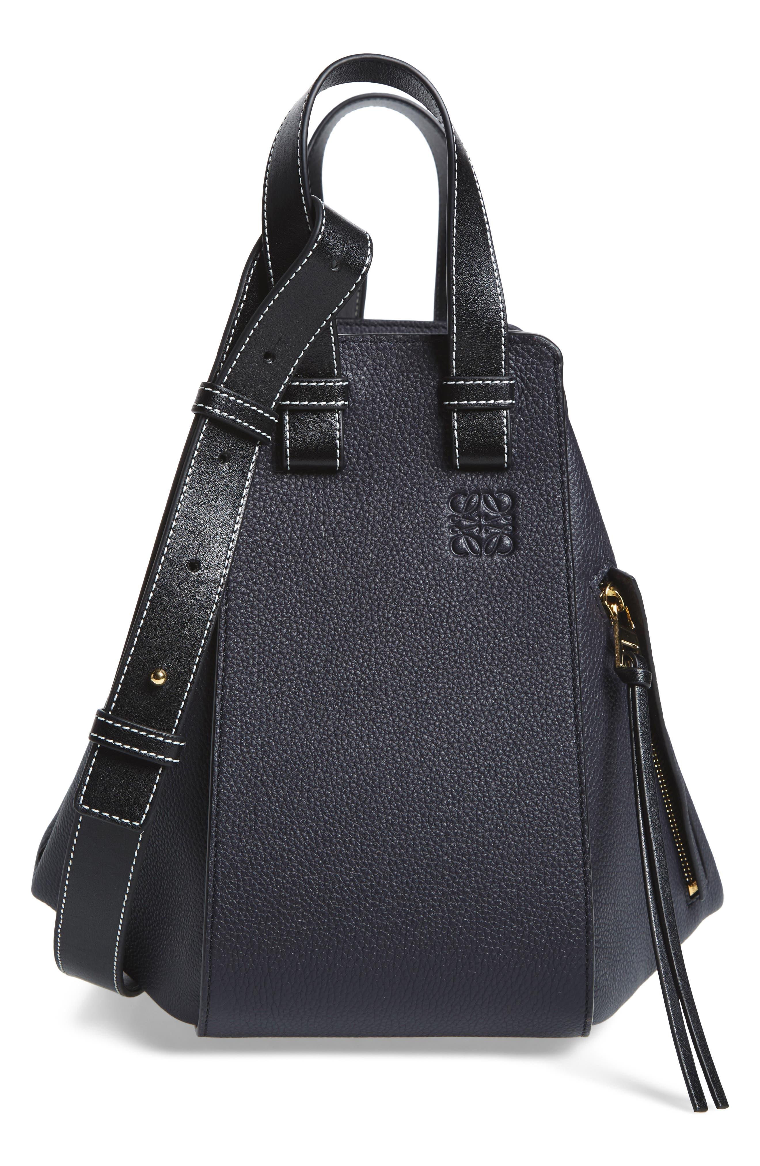 Alternate Image 1 Selected - Loewe Small Hammock Pebbled Leather Hobo