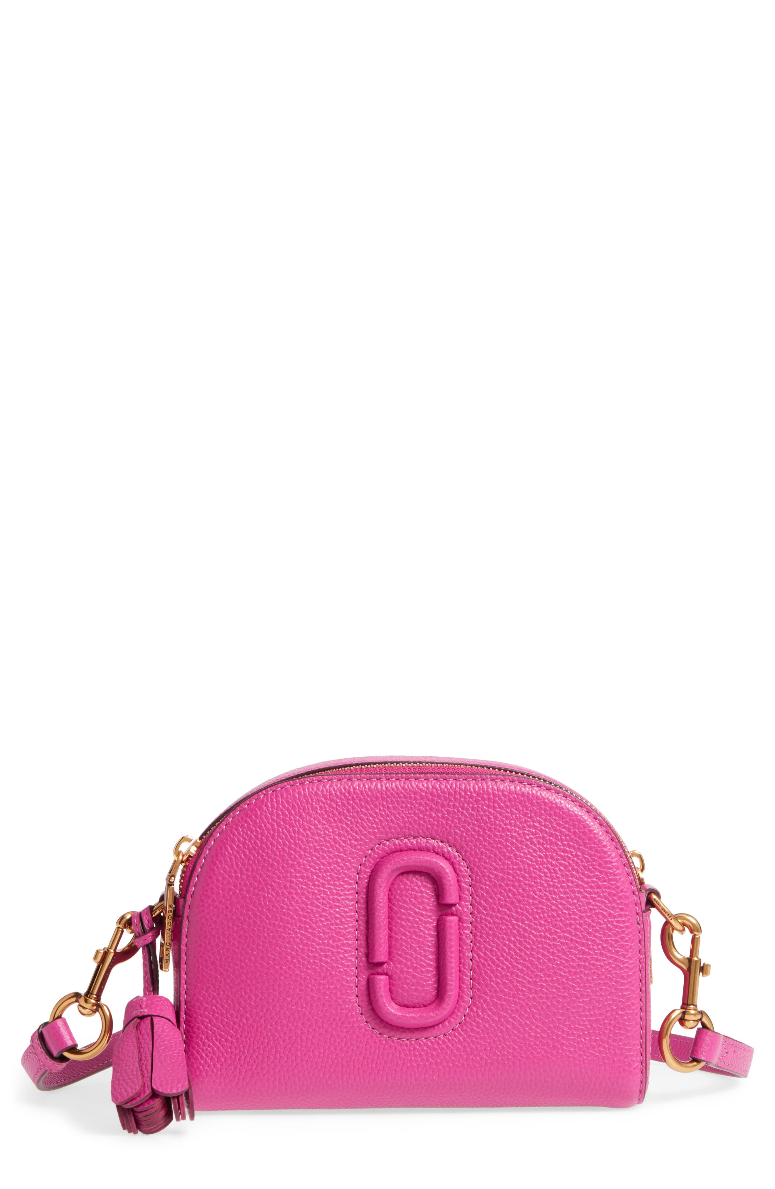 MARC JACOBS Small Shutter Leather Camera Bag