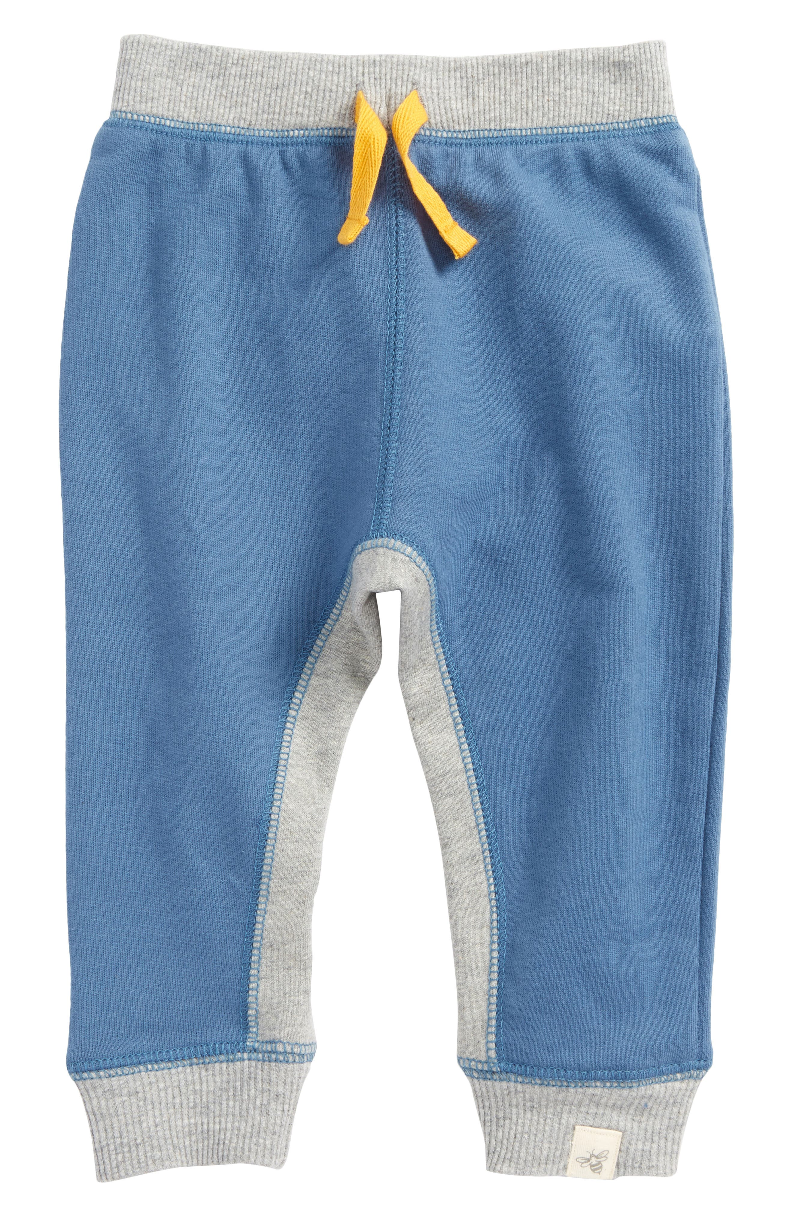Main Image - Burt's Bees Baby Organic Cotton French Terry Pants (Baby Boys)