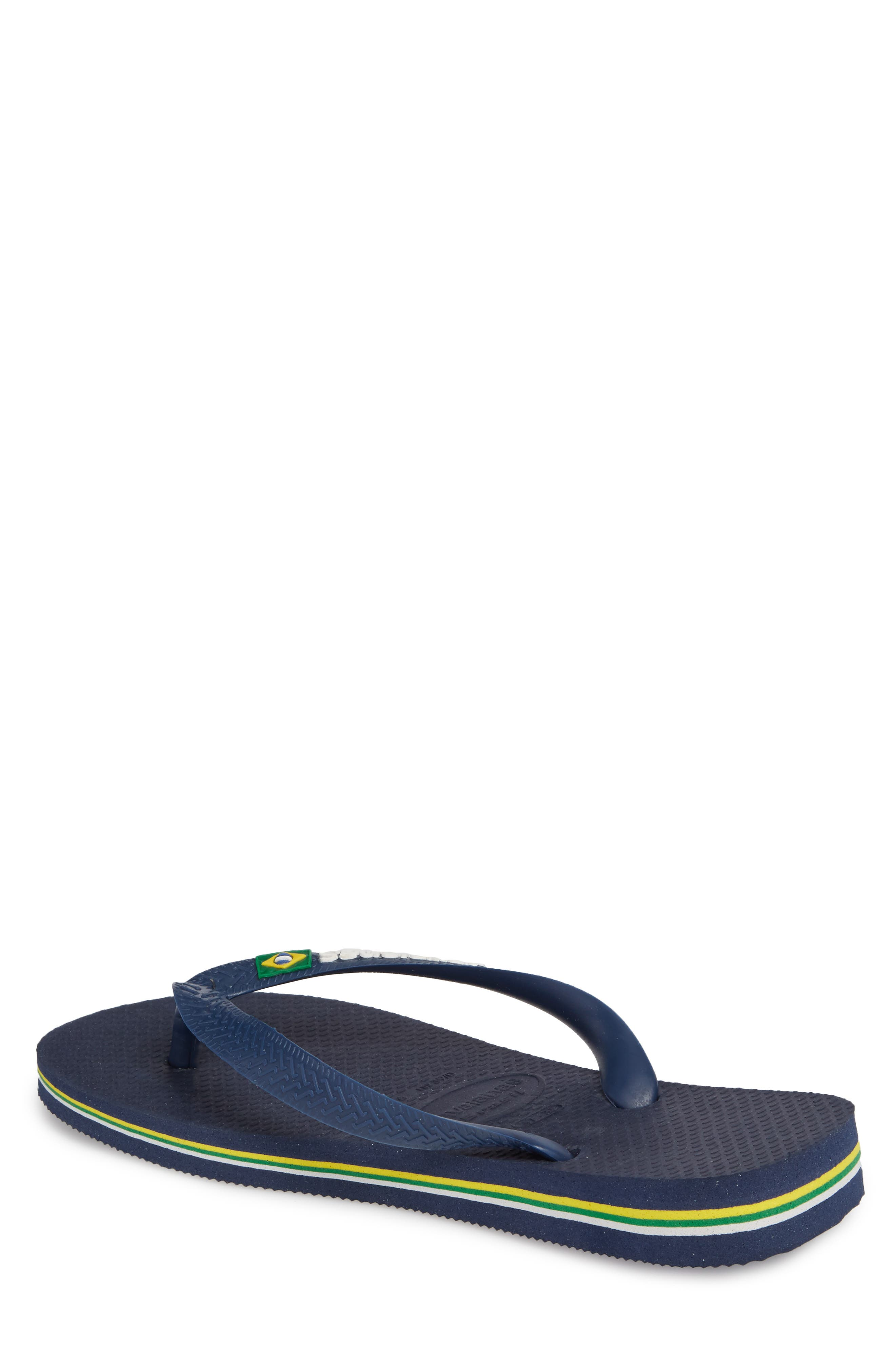 Alternate Image 2  - Havaianas Brazil Flip Flop (Men)