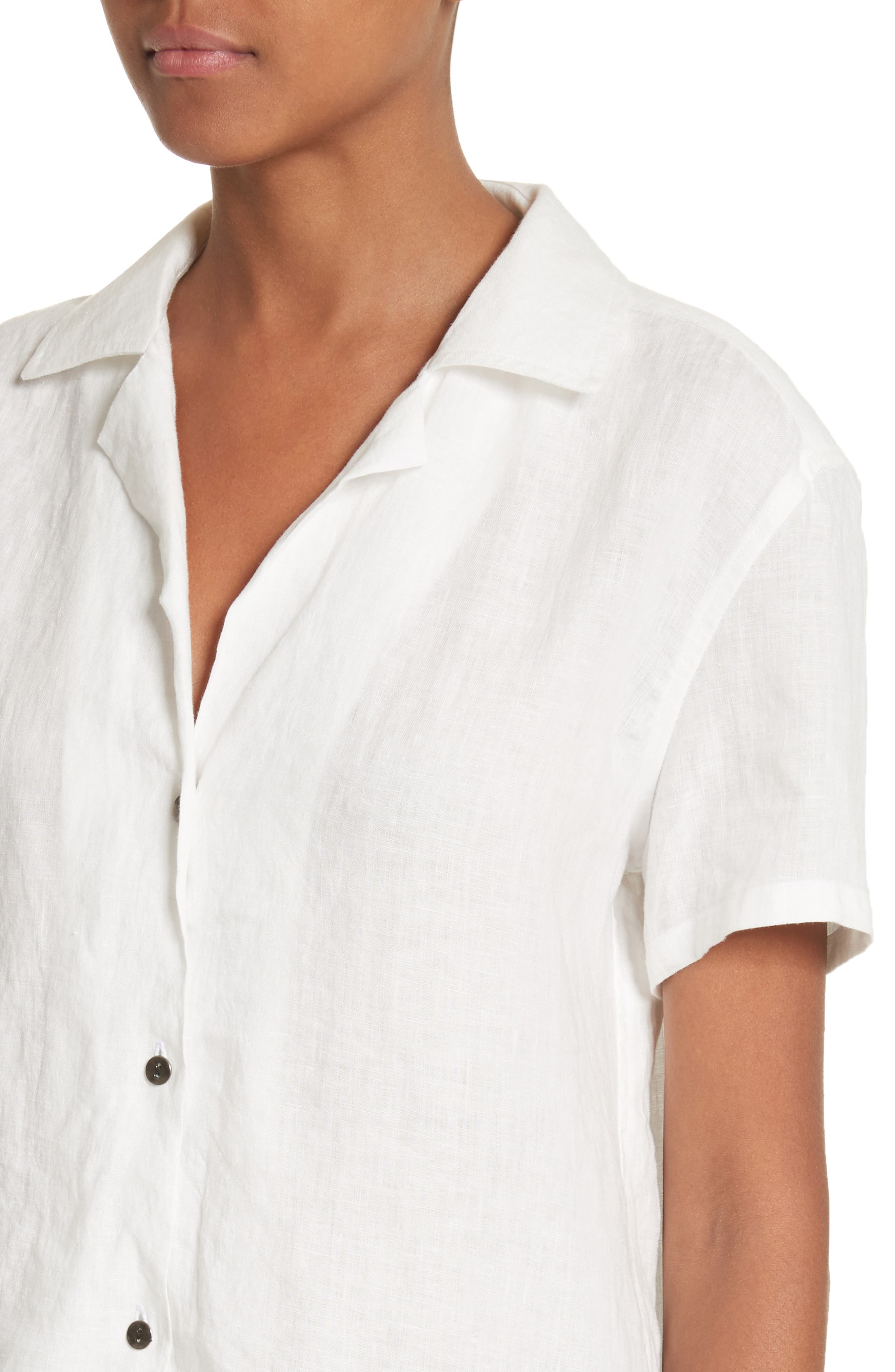 Alternate Image 4  - Simon Miller Kinney Linen Blouse